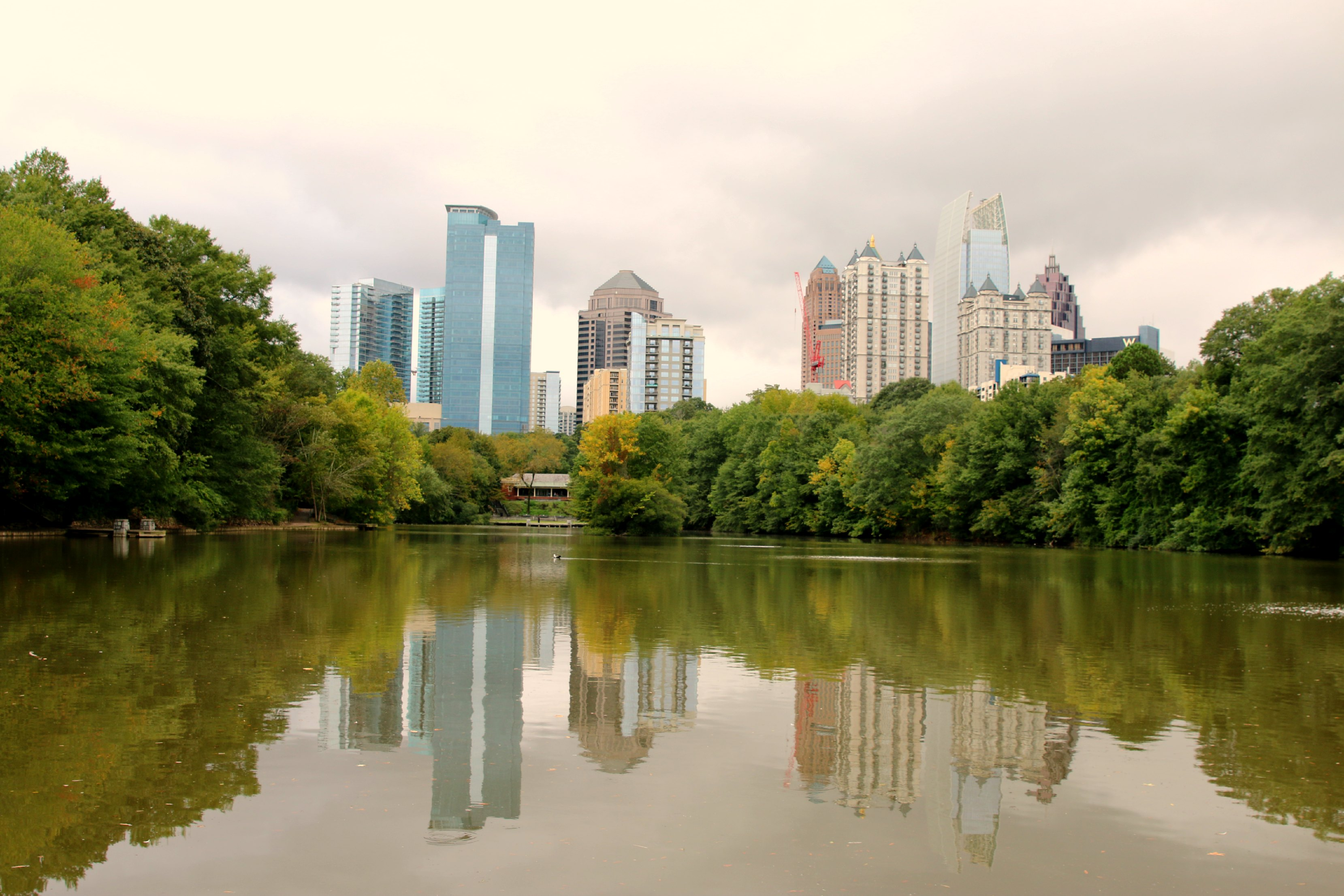 atlanta view from piedmont park