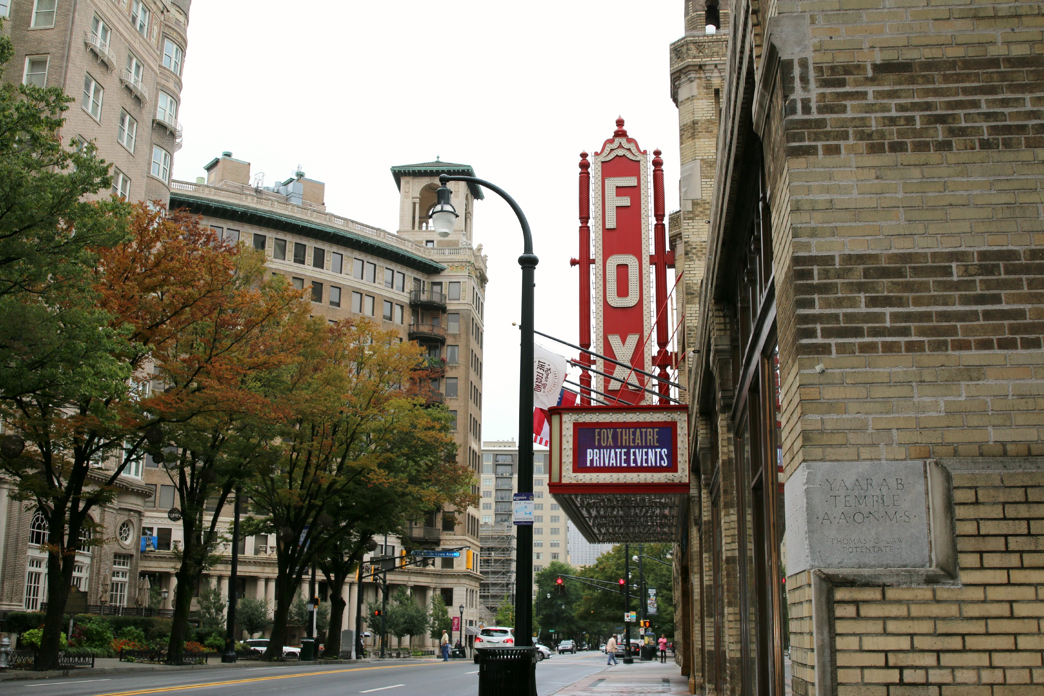 fox theater tour