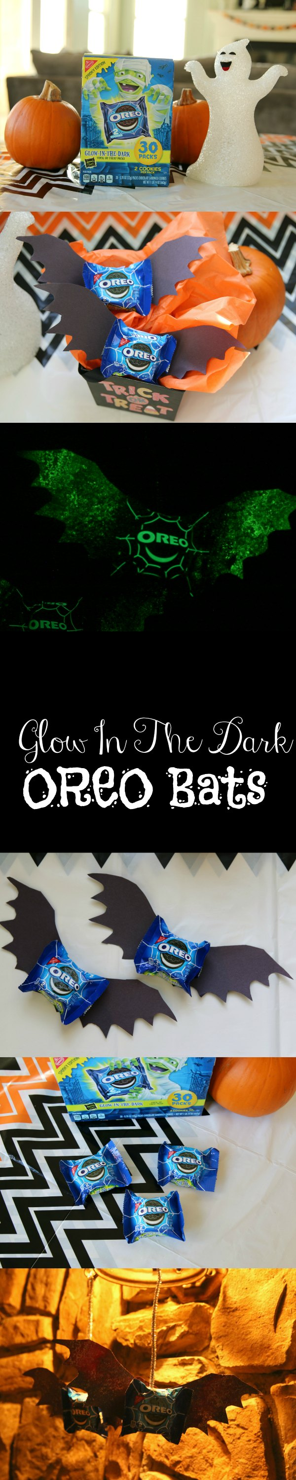 glow in the dark oreo bats for halloween
