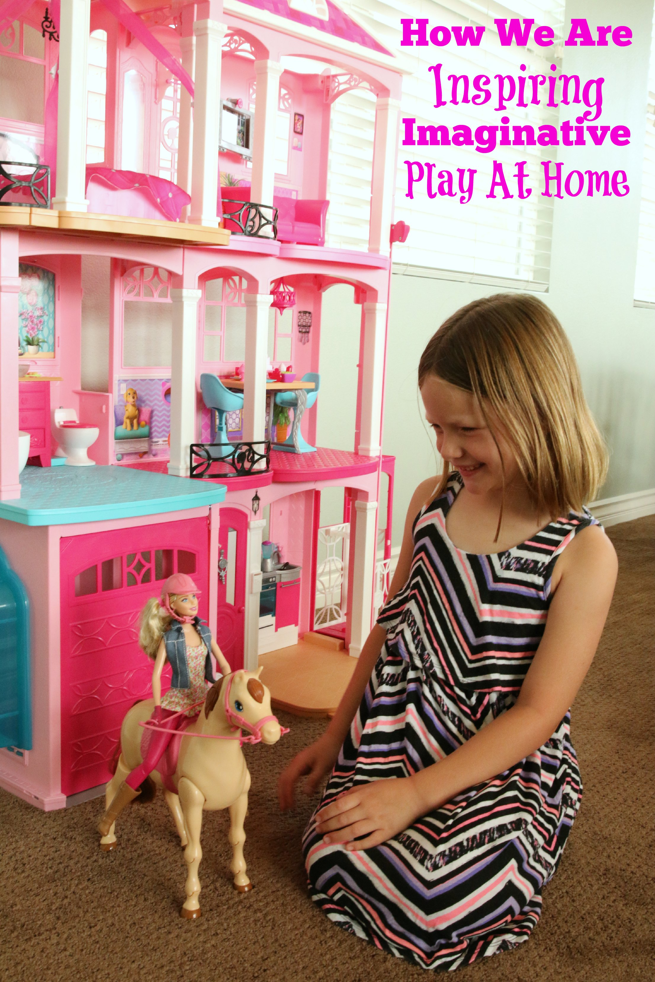 how we are inspiring imaginative play at home