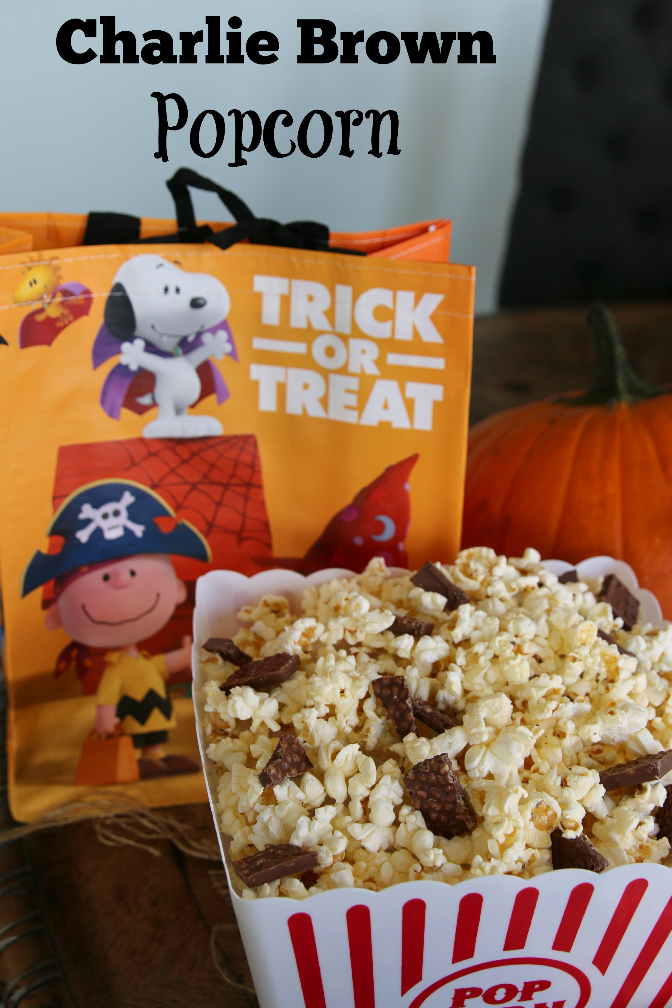 movie popcorn for charlie brown