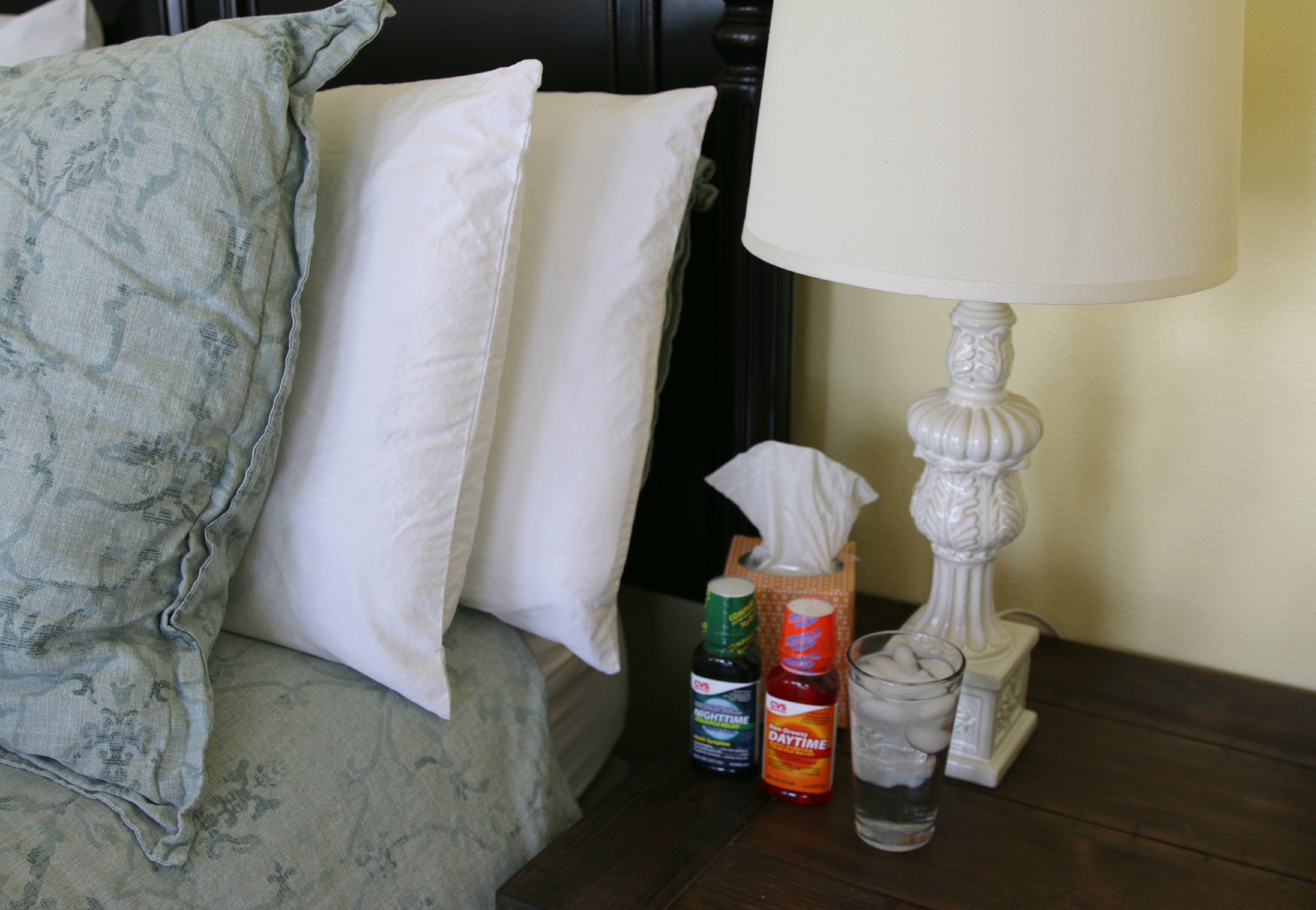 Nightstand Must-Haves For Cold & Flu Time