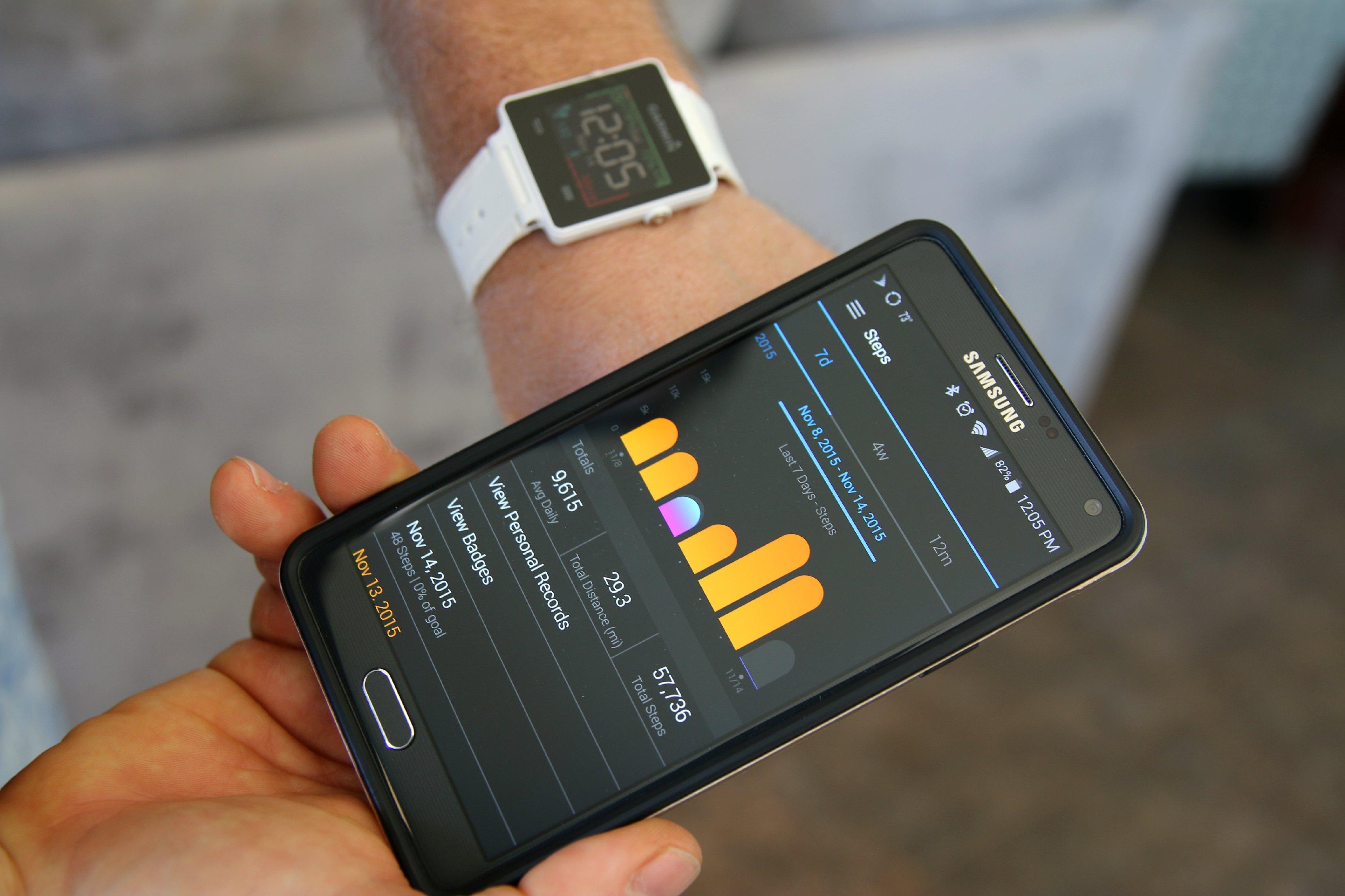garmin fitness tracker review