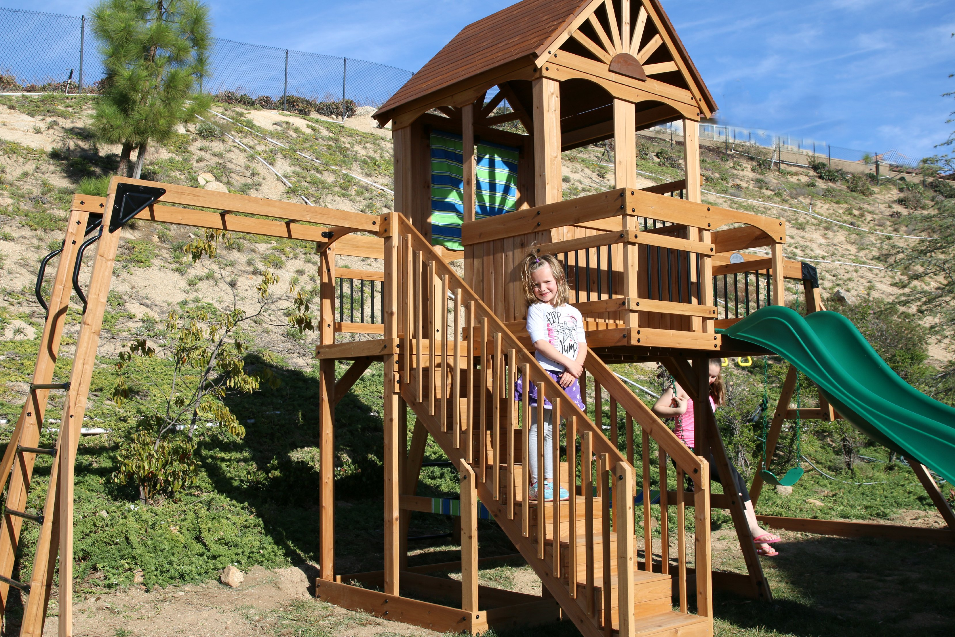 Why We Love Our New Swing Set And Giveaway It S A Lovely Life