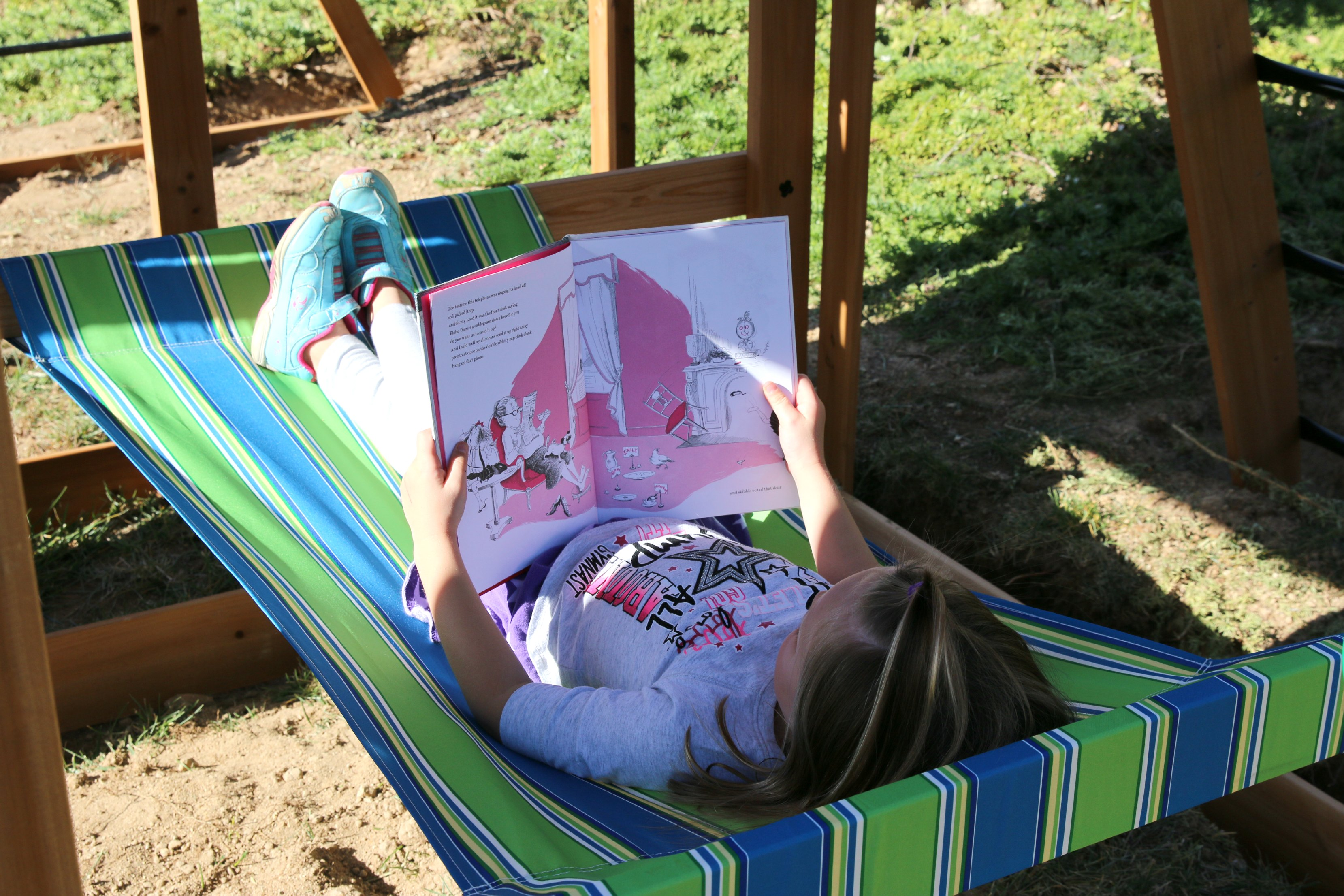 relaxing outdoor fun for kids
