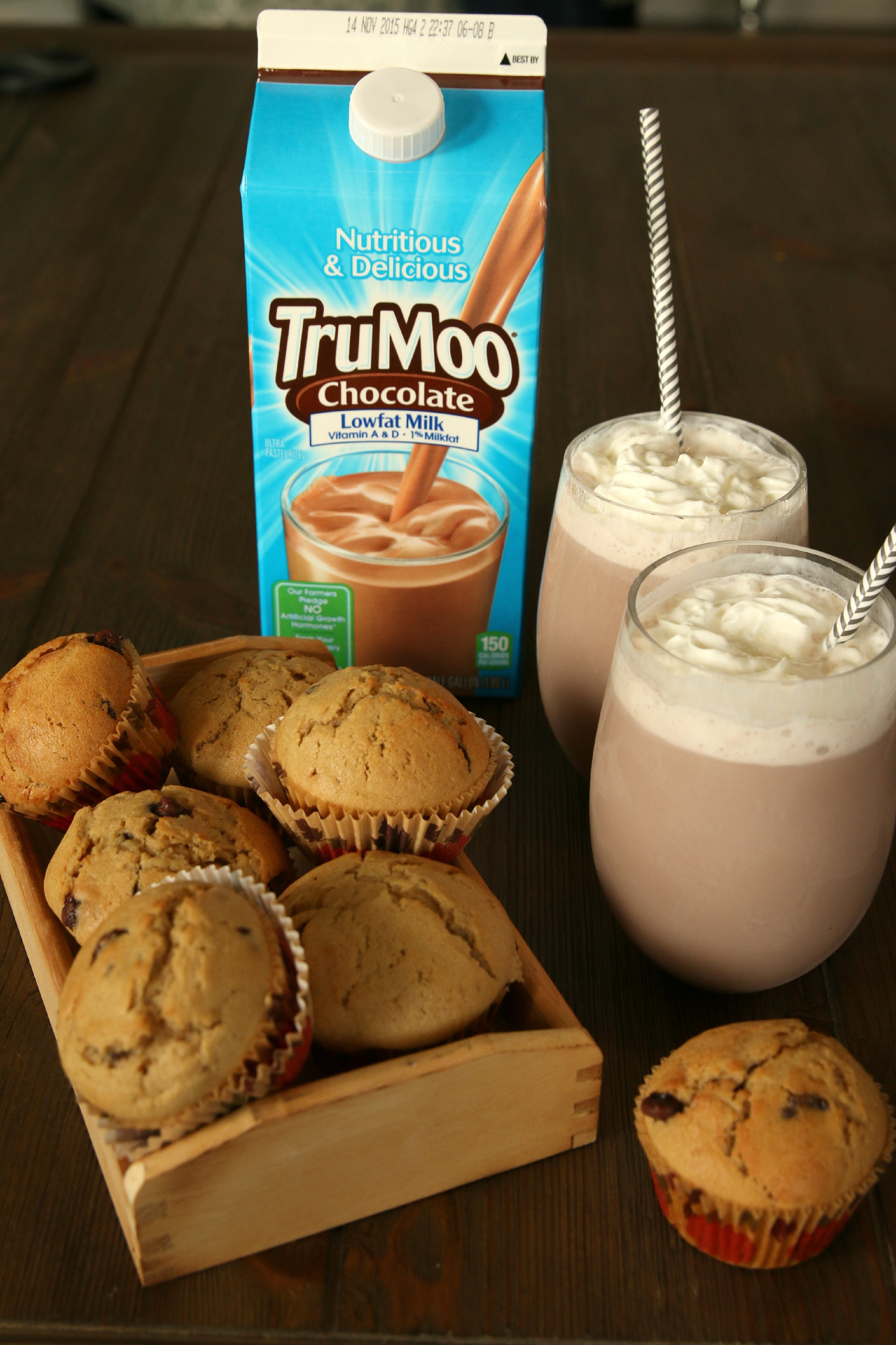 trumoo milk chocolate muffins