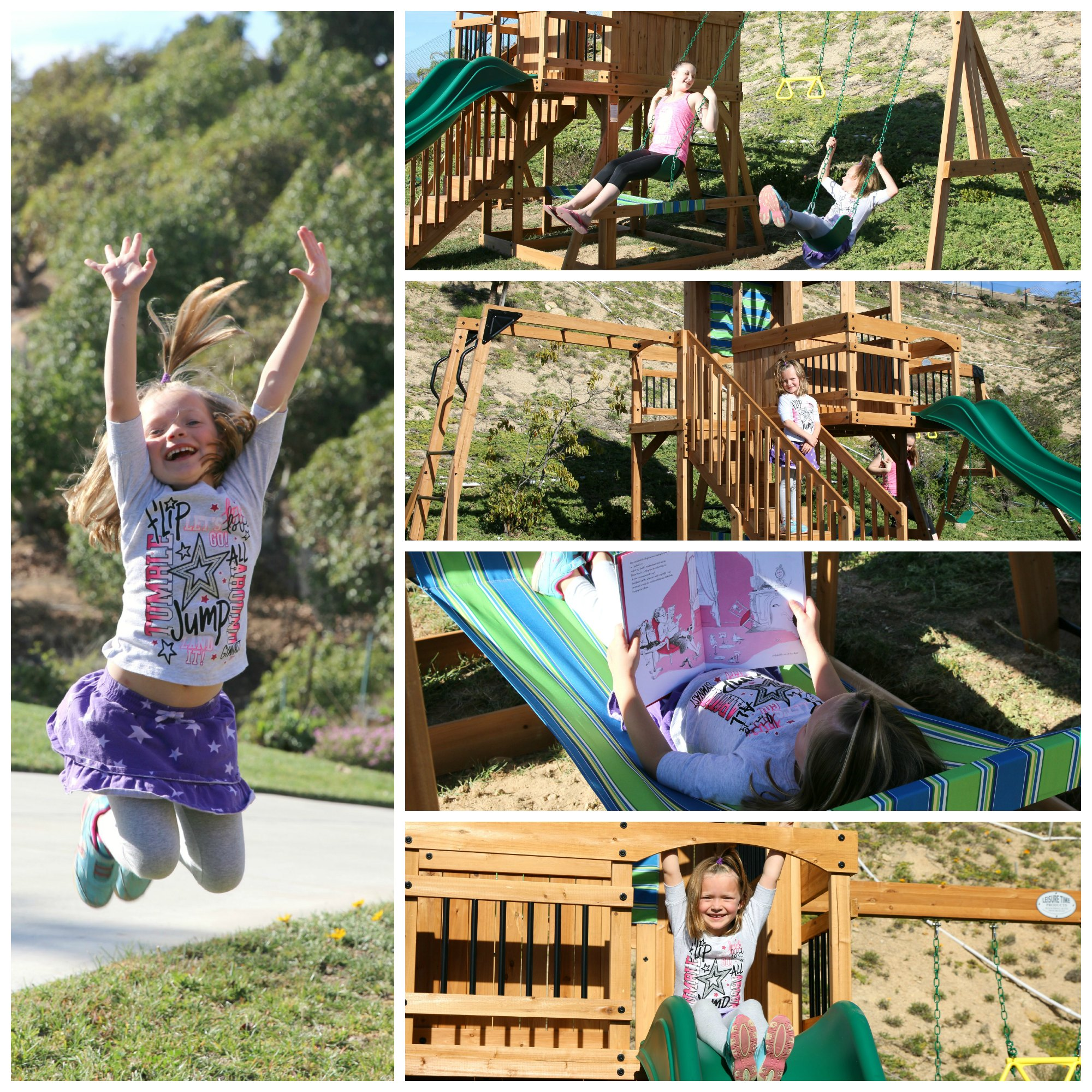 why we love our ocean view swing set