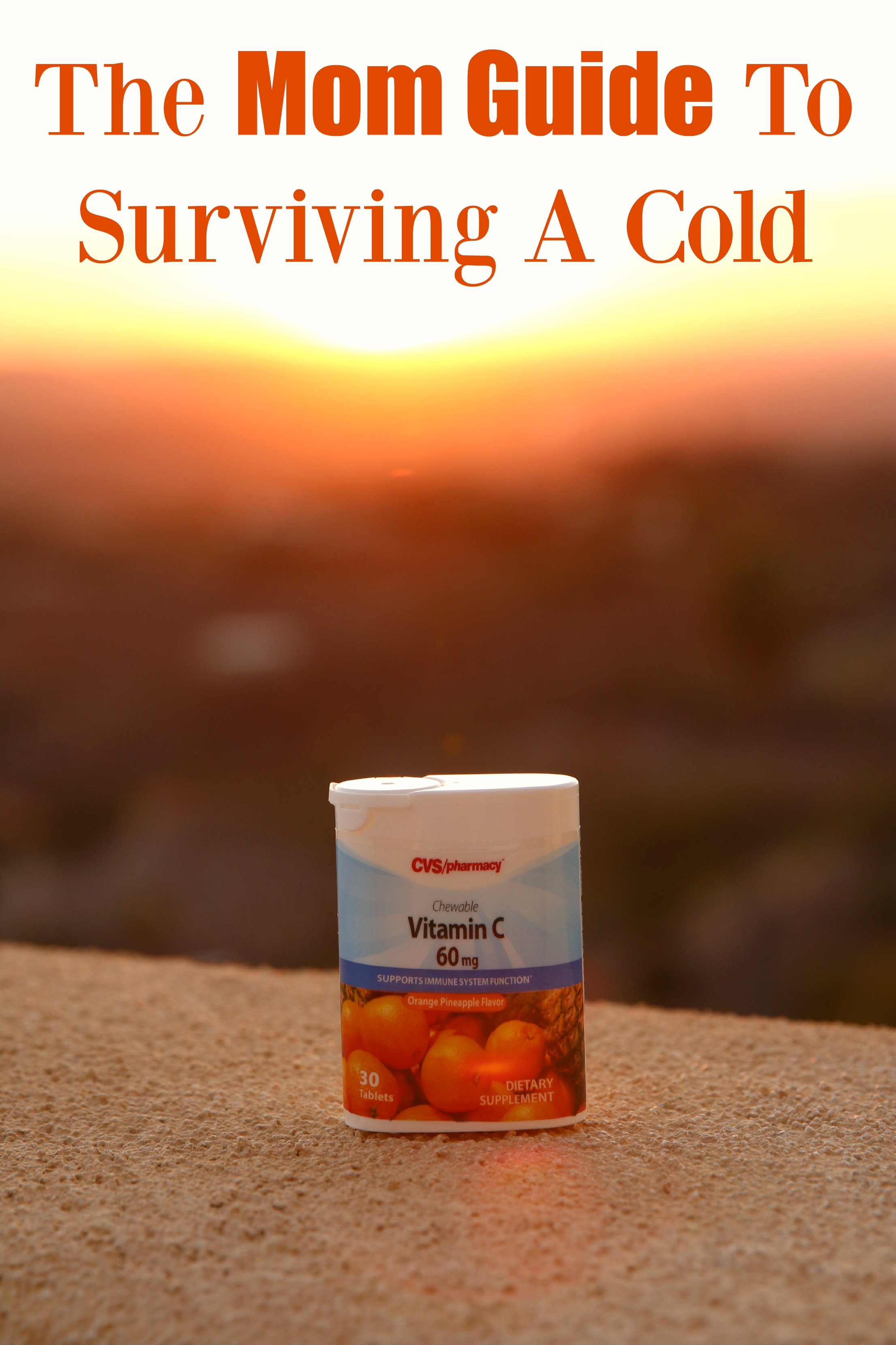 The Mom Guide To Surviving A Cold