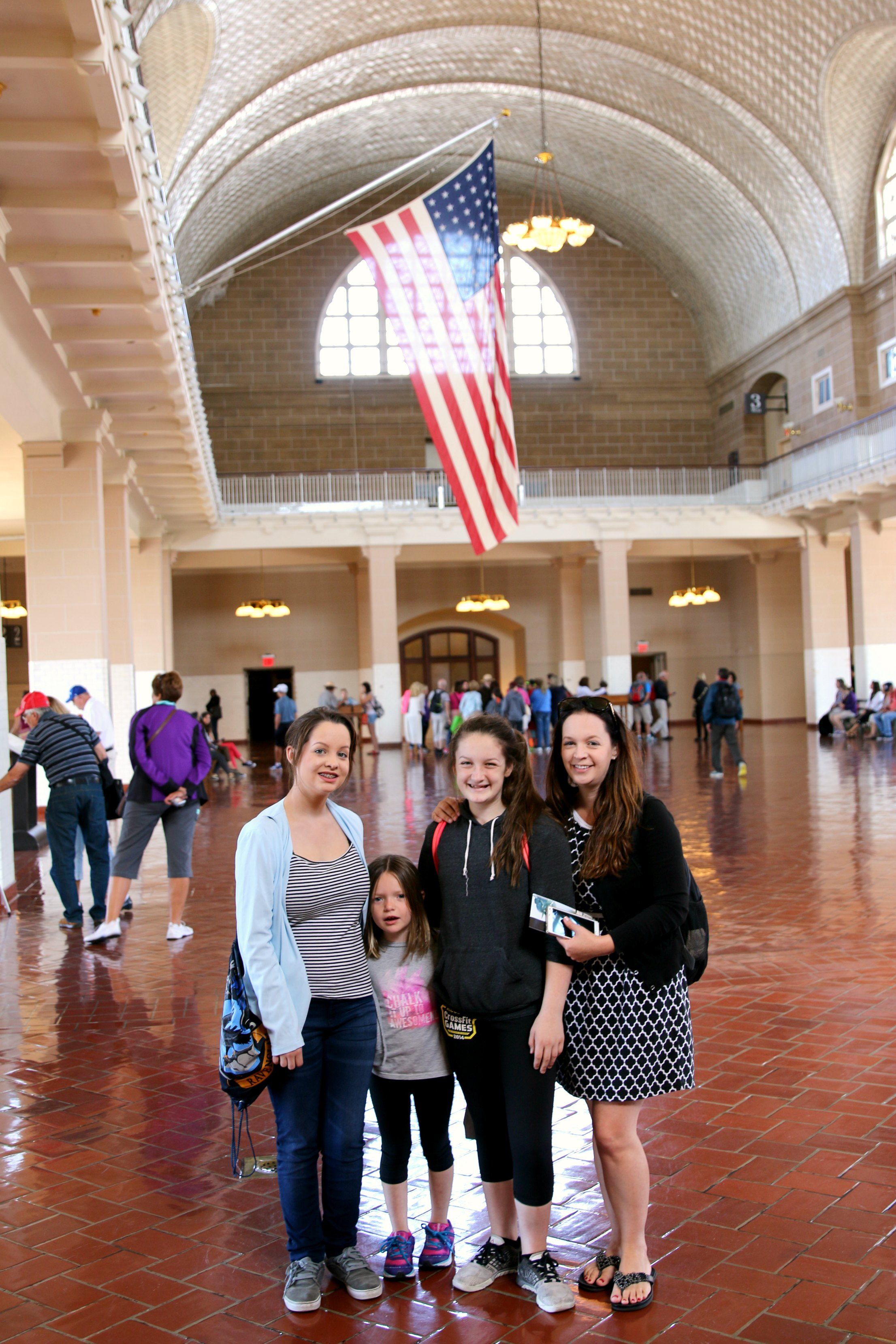 ellis island with kids