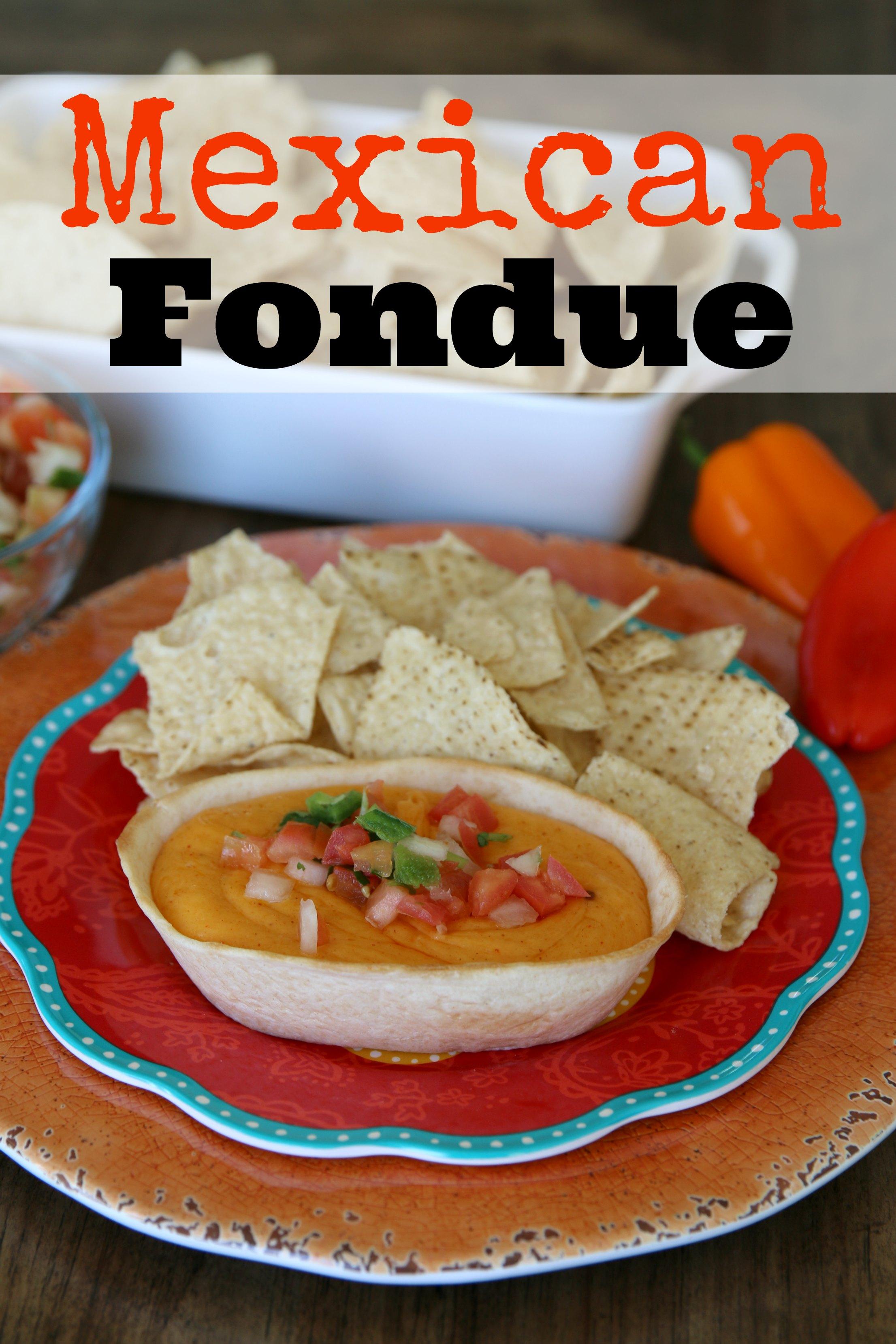 easy Mexican fondue