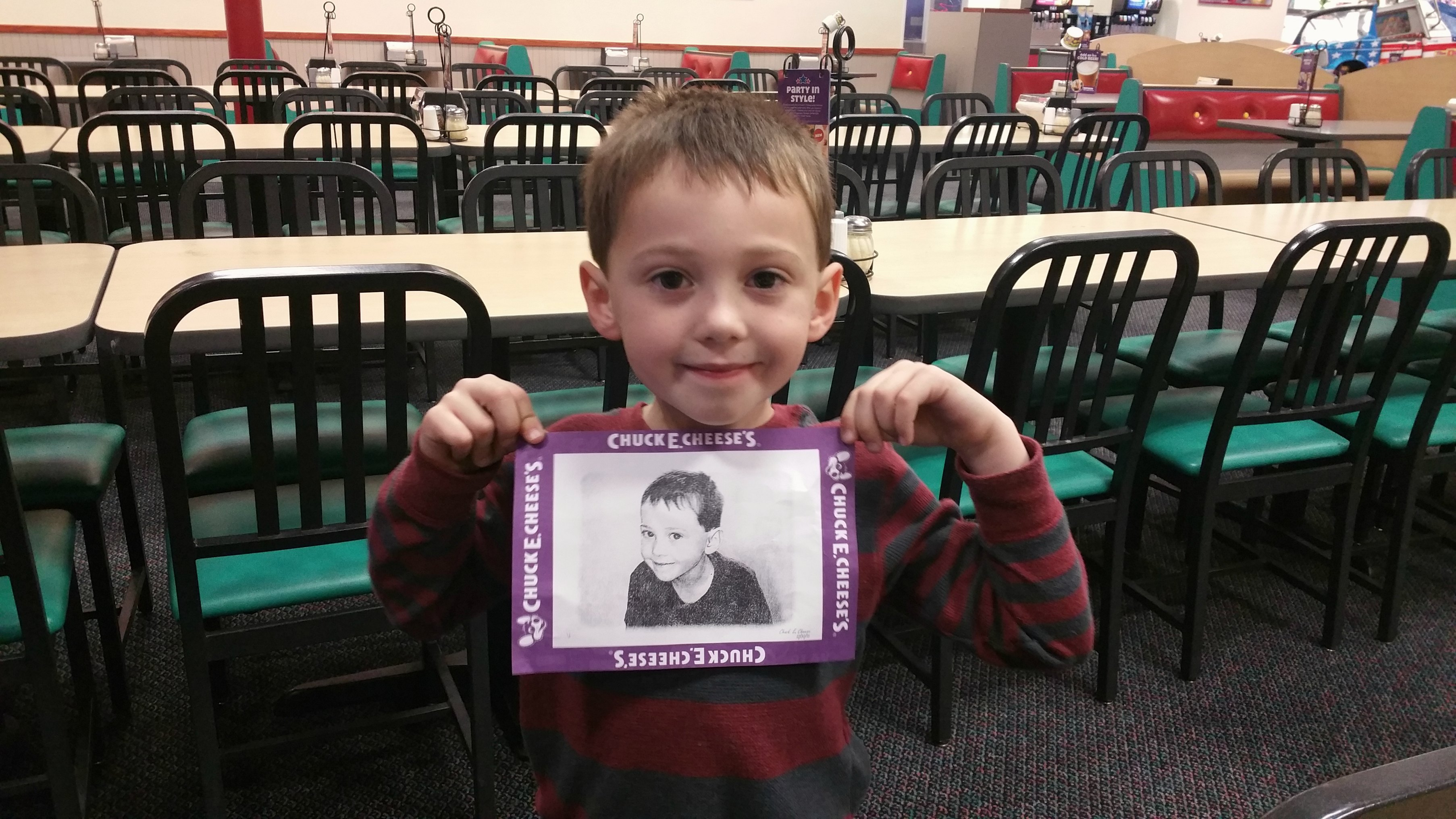 easy parties at chuck e cheese