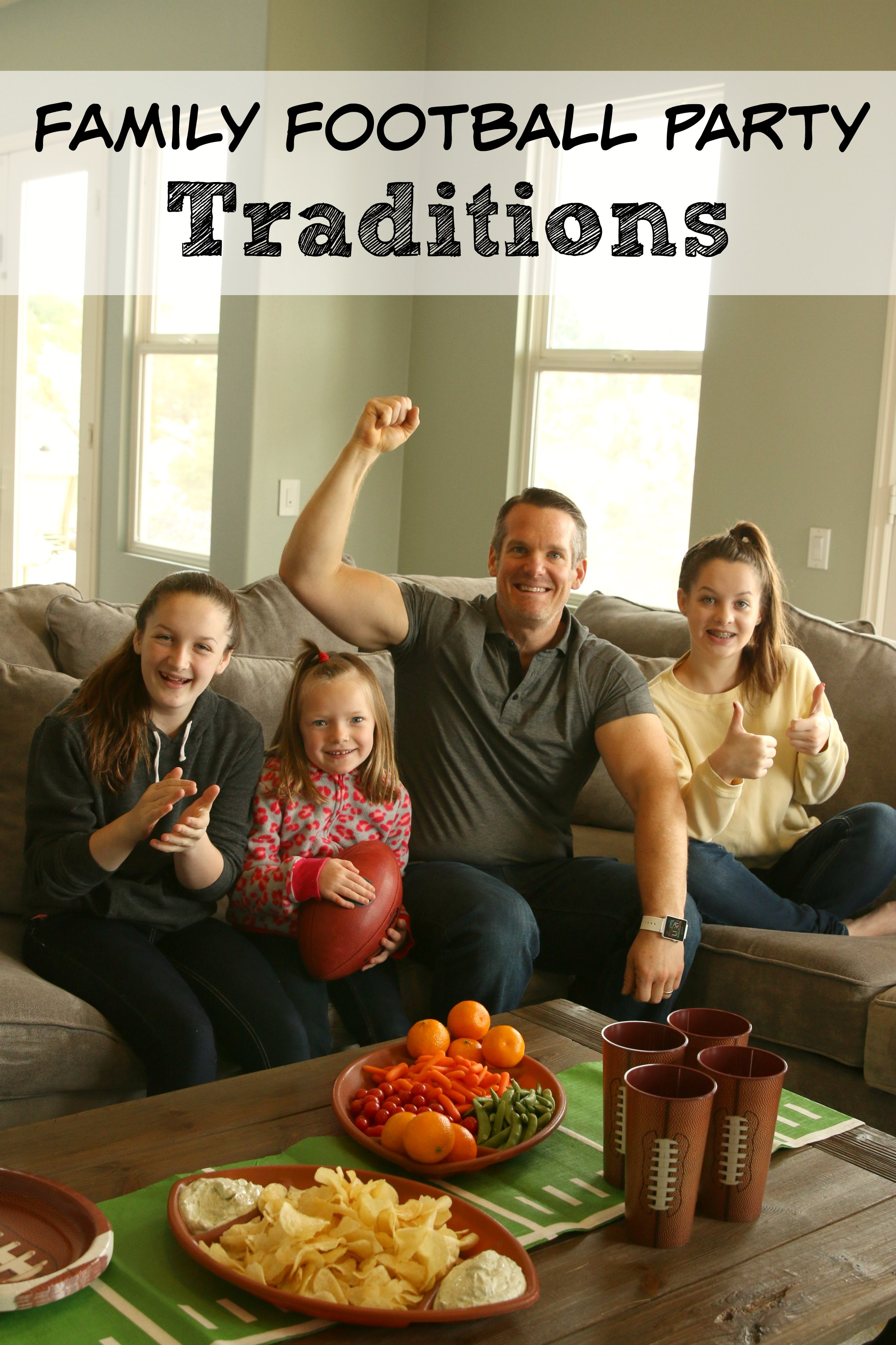 family football party traditions