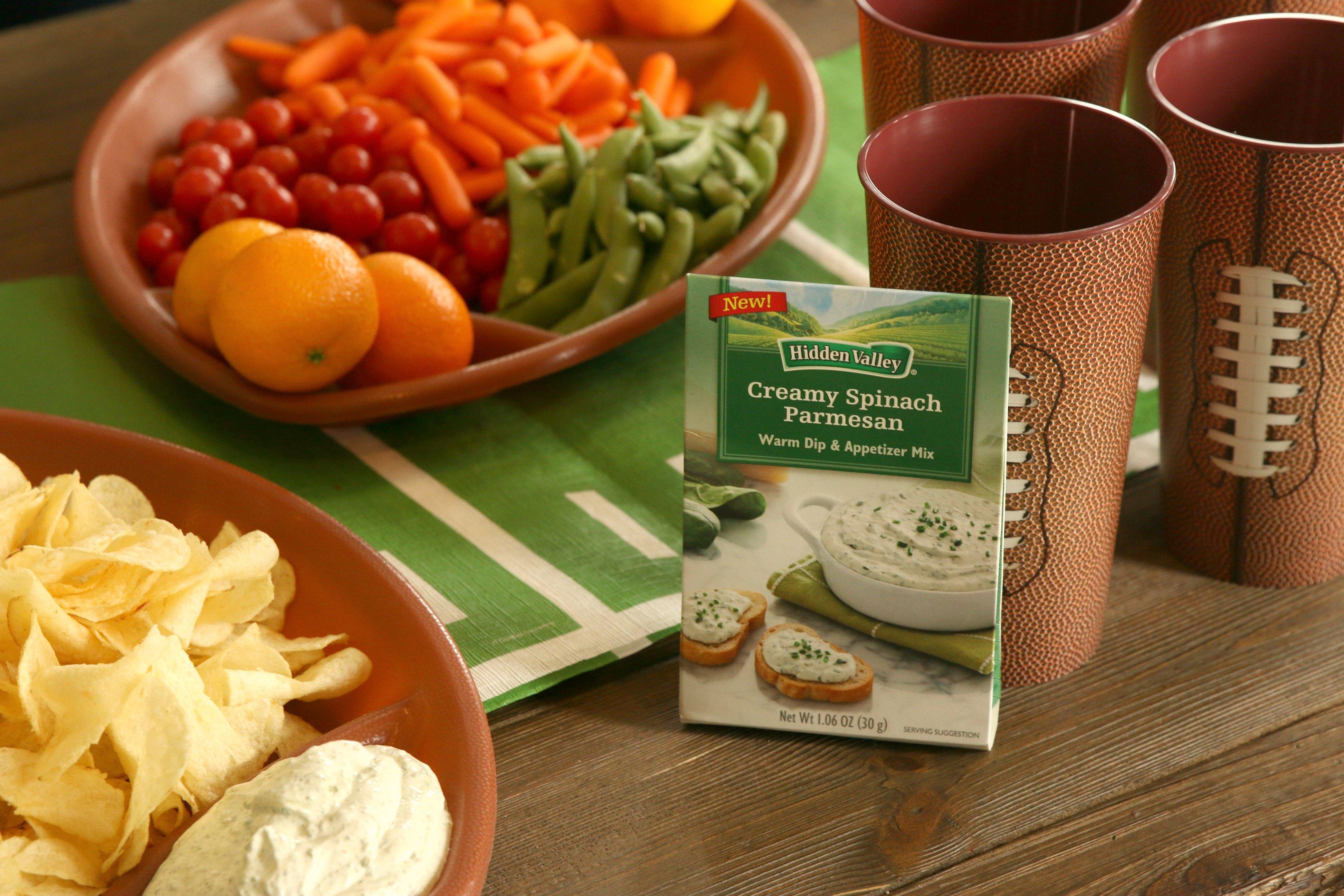 hidden valley creamy spinach