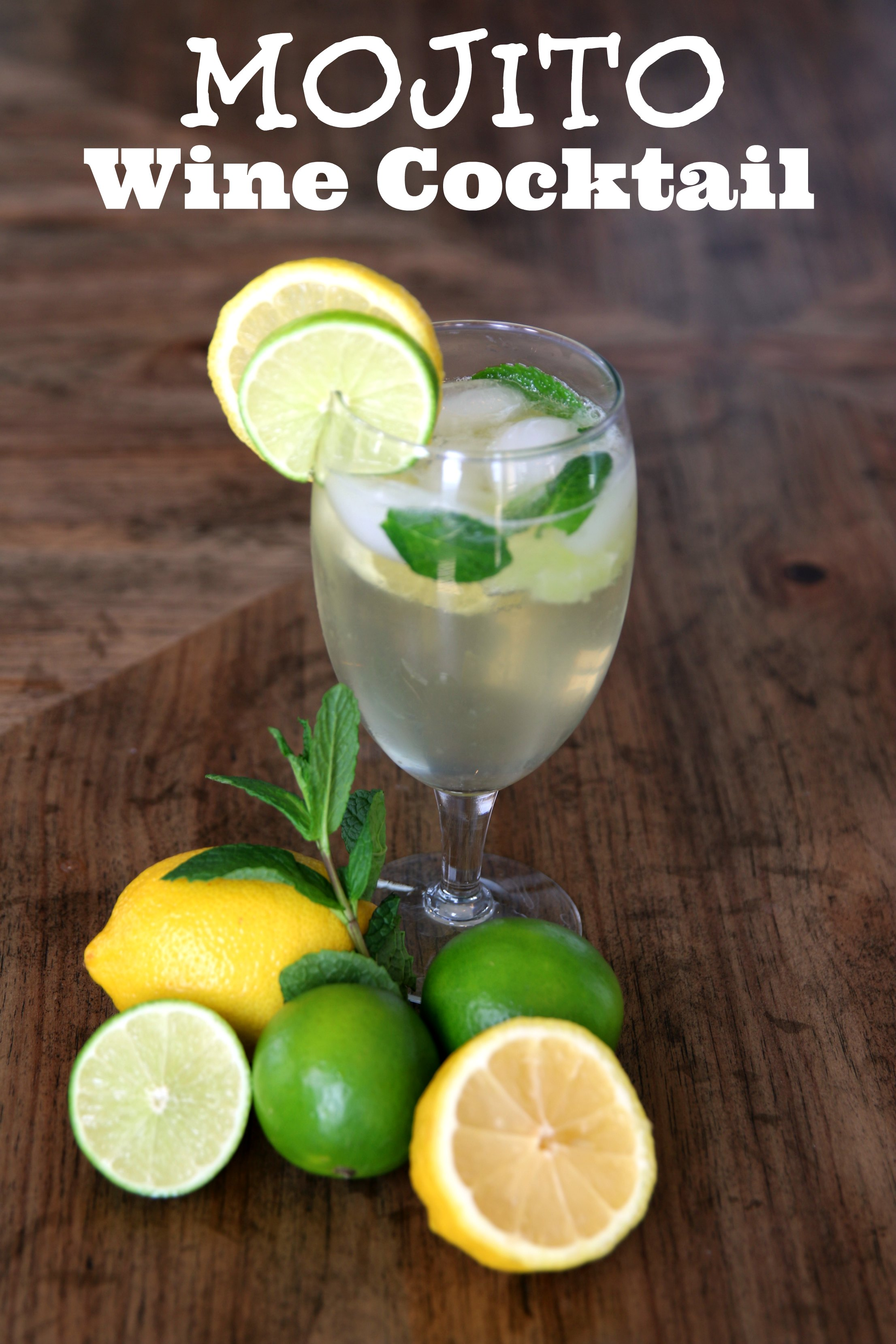 mojito wine cocktail