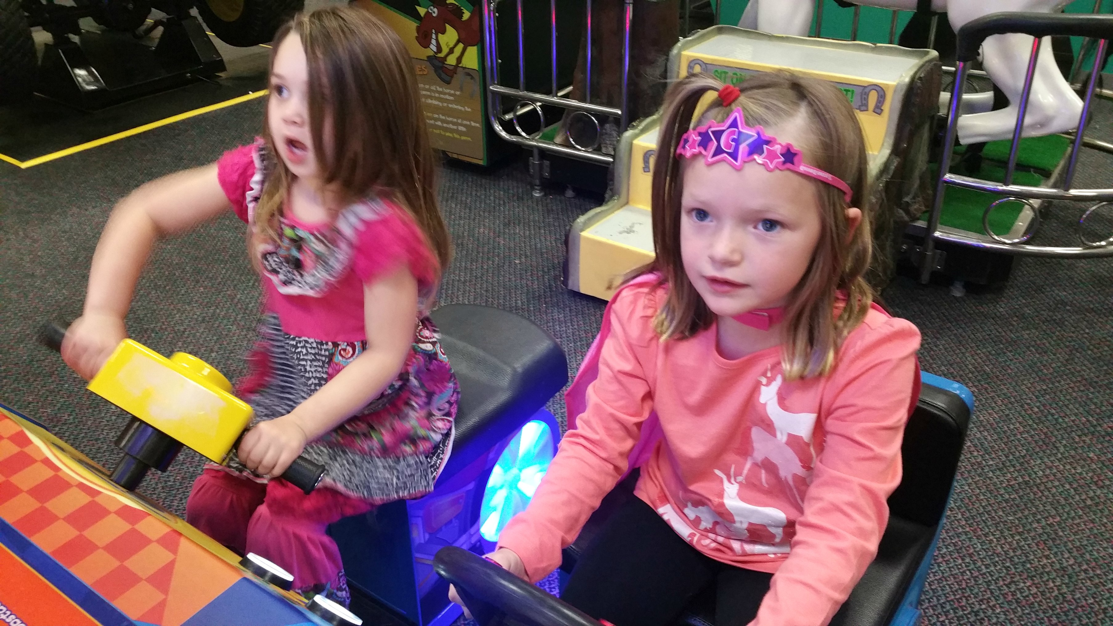 playing at chuckecheese