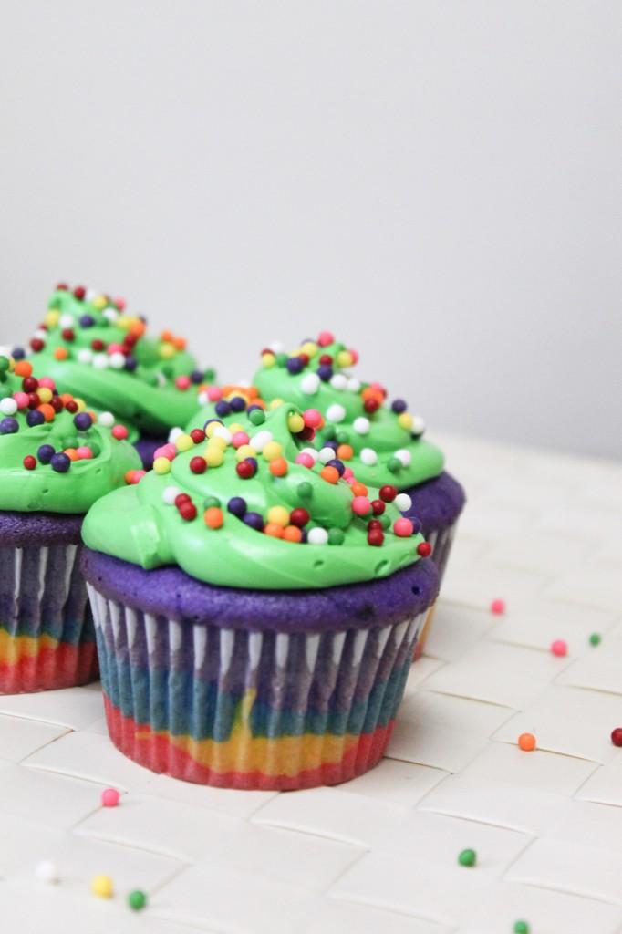 Rainbow Cupcakes-1-2