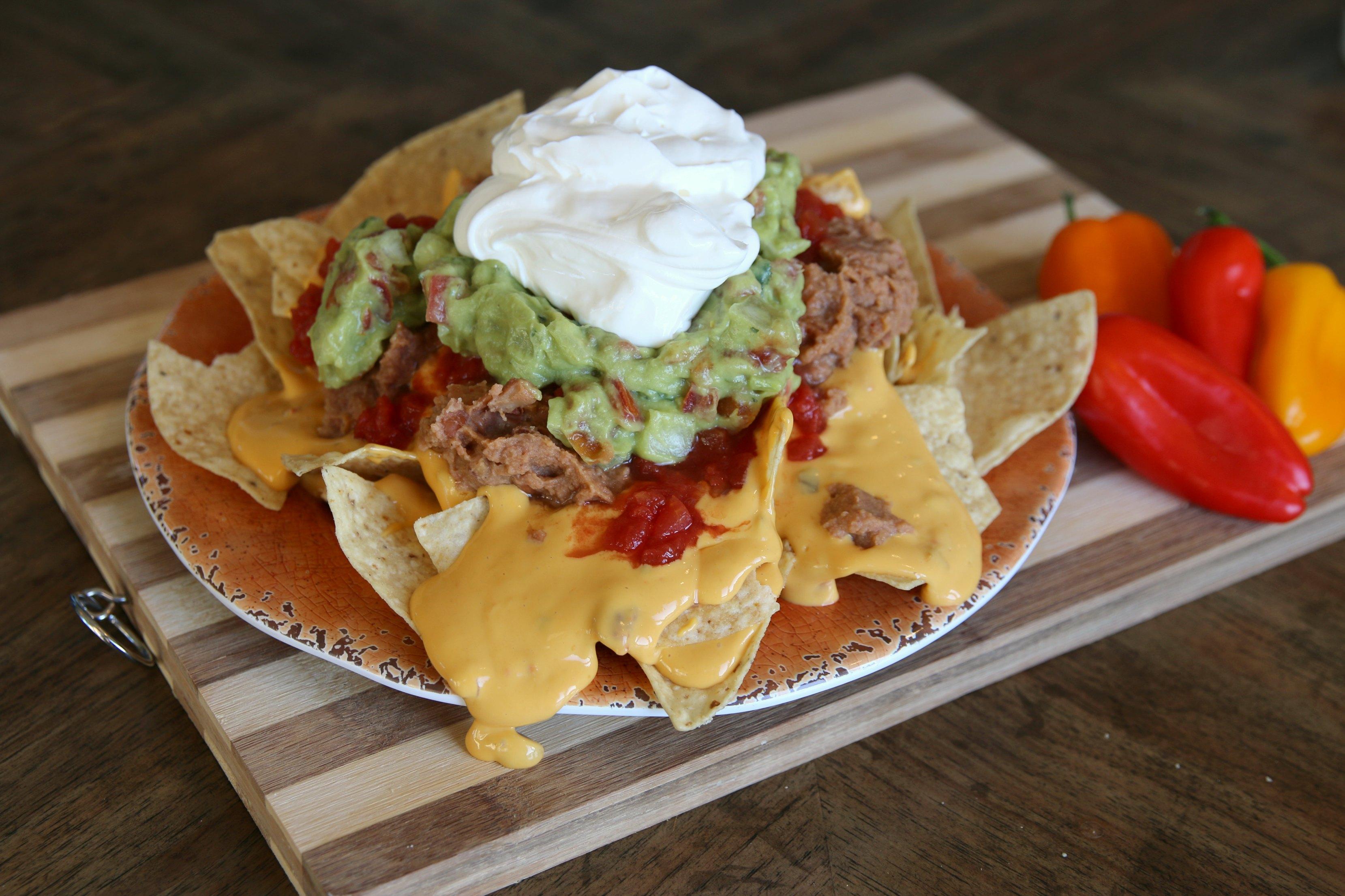 messy nachos