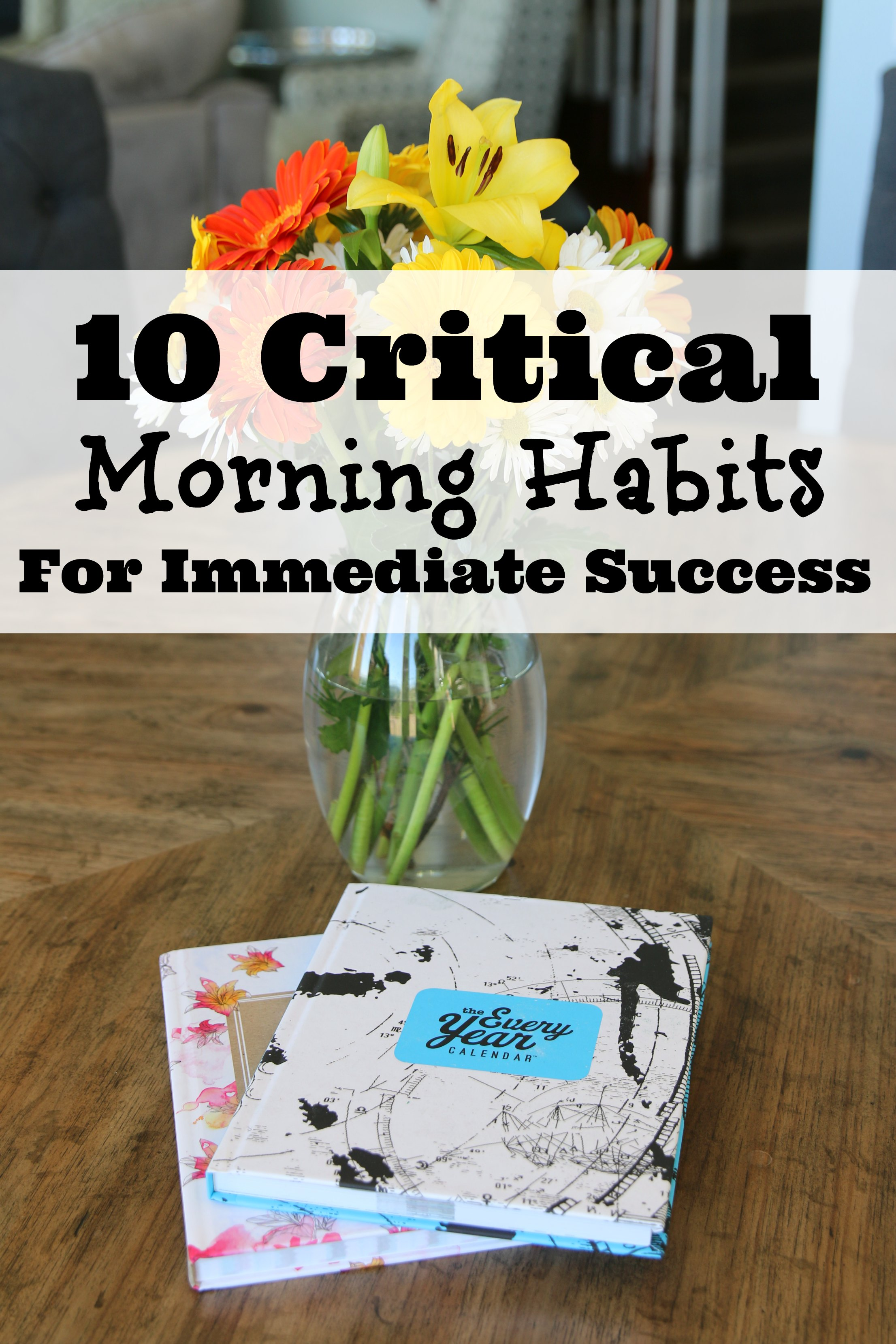 morning habits for success
