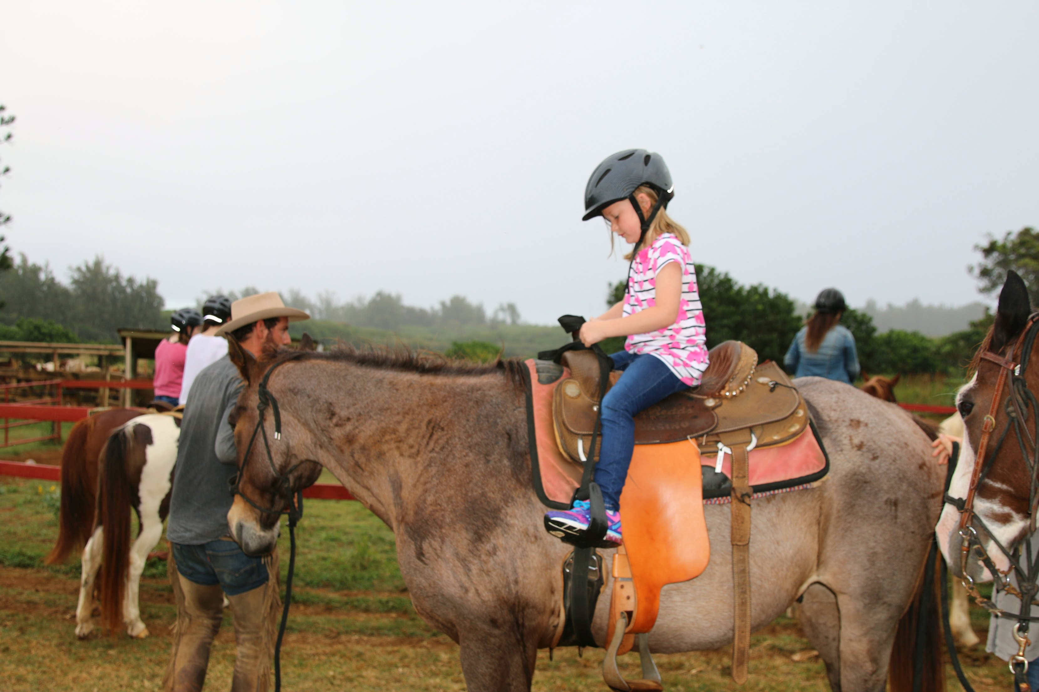 kids horseback riding hawaii oahu