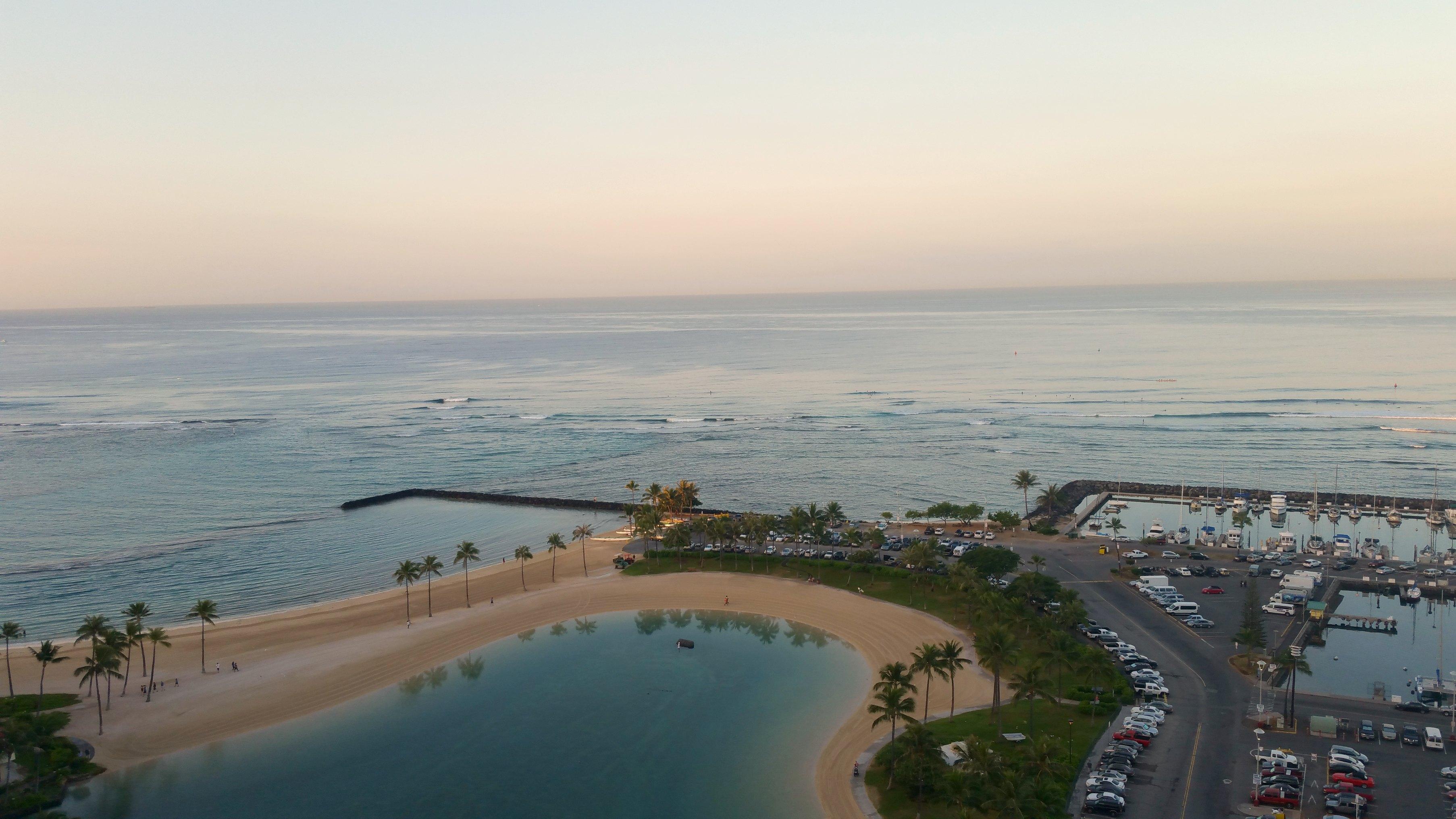 sunrise Oahu Waikiki