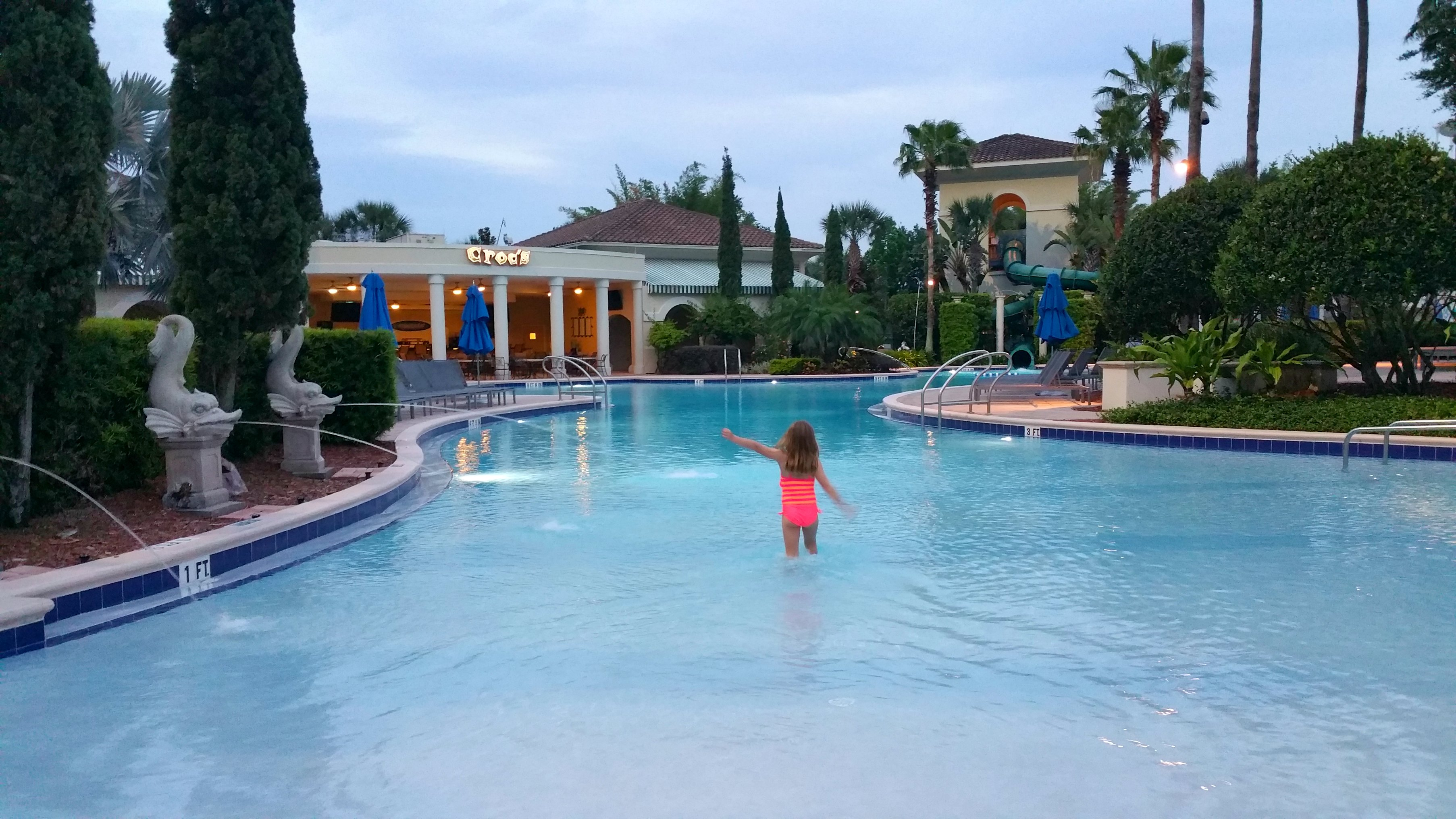 family swimming pool omni orlando