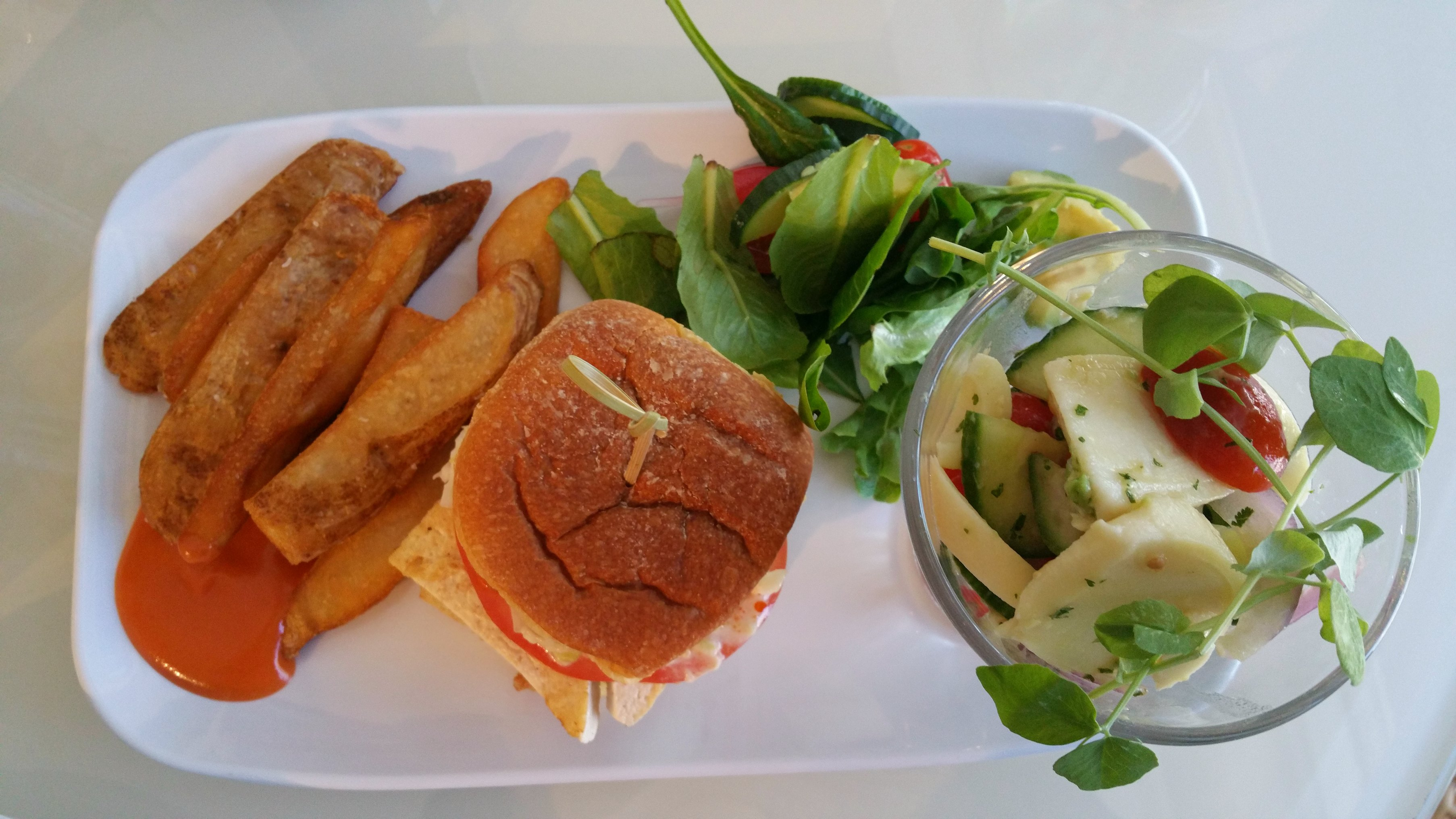fresh lunch trump miami