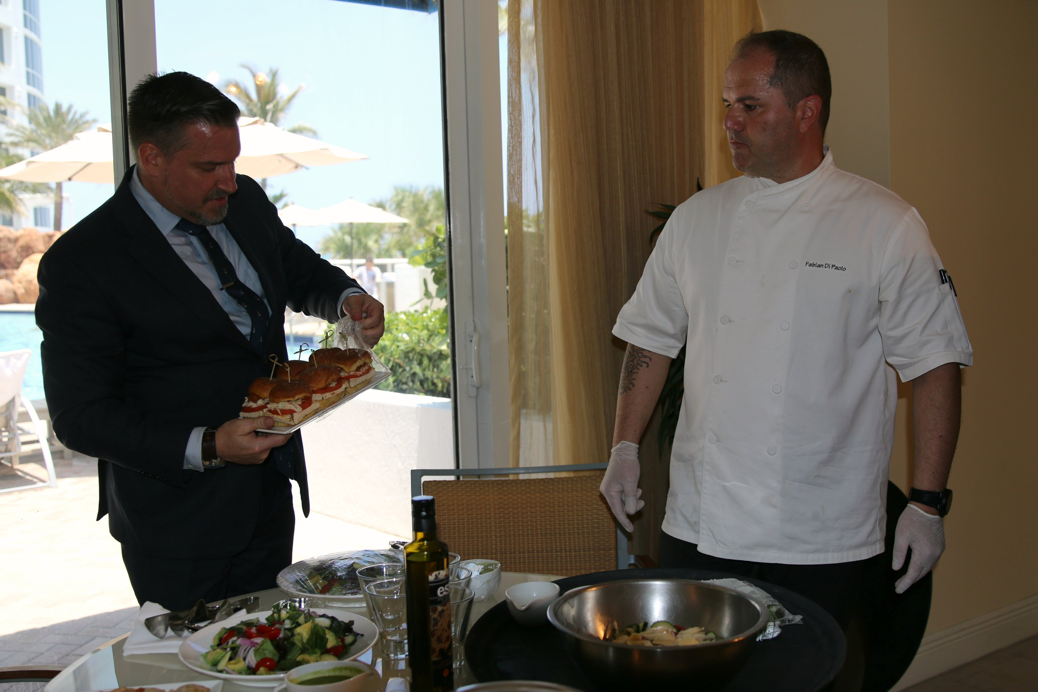 personal cooking in cabana