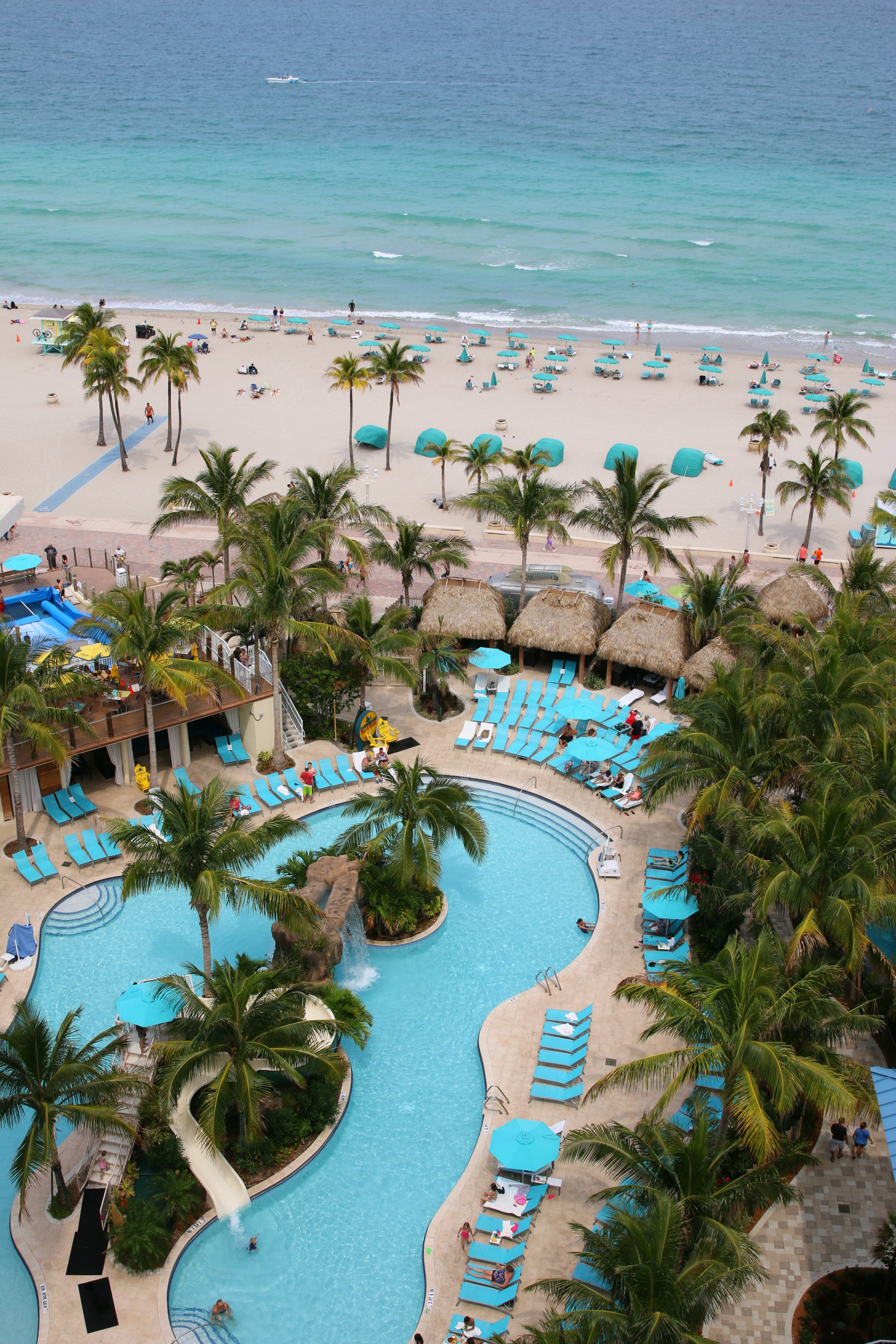 pools margaritavillehollywoodbeachresort