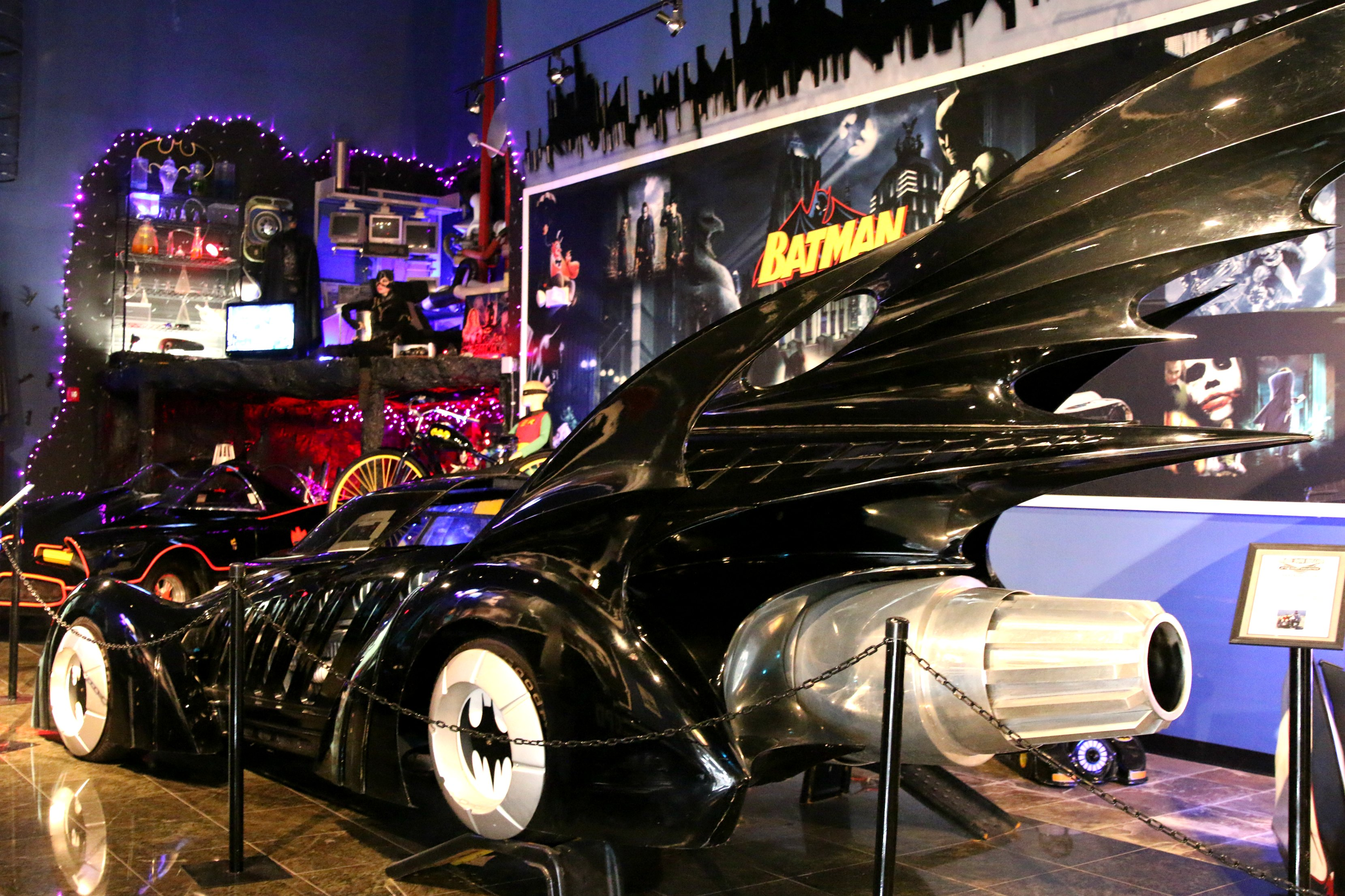 see the real bat mobile