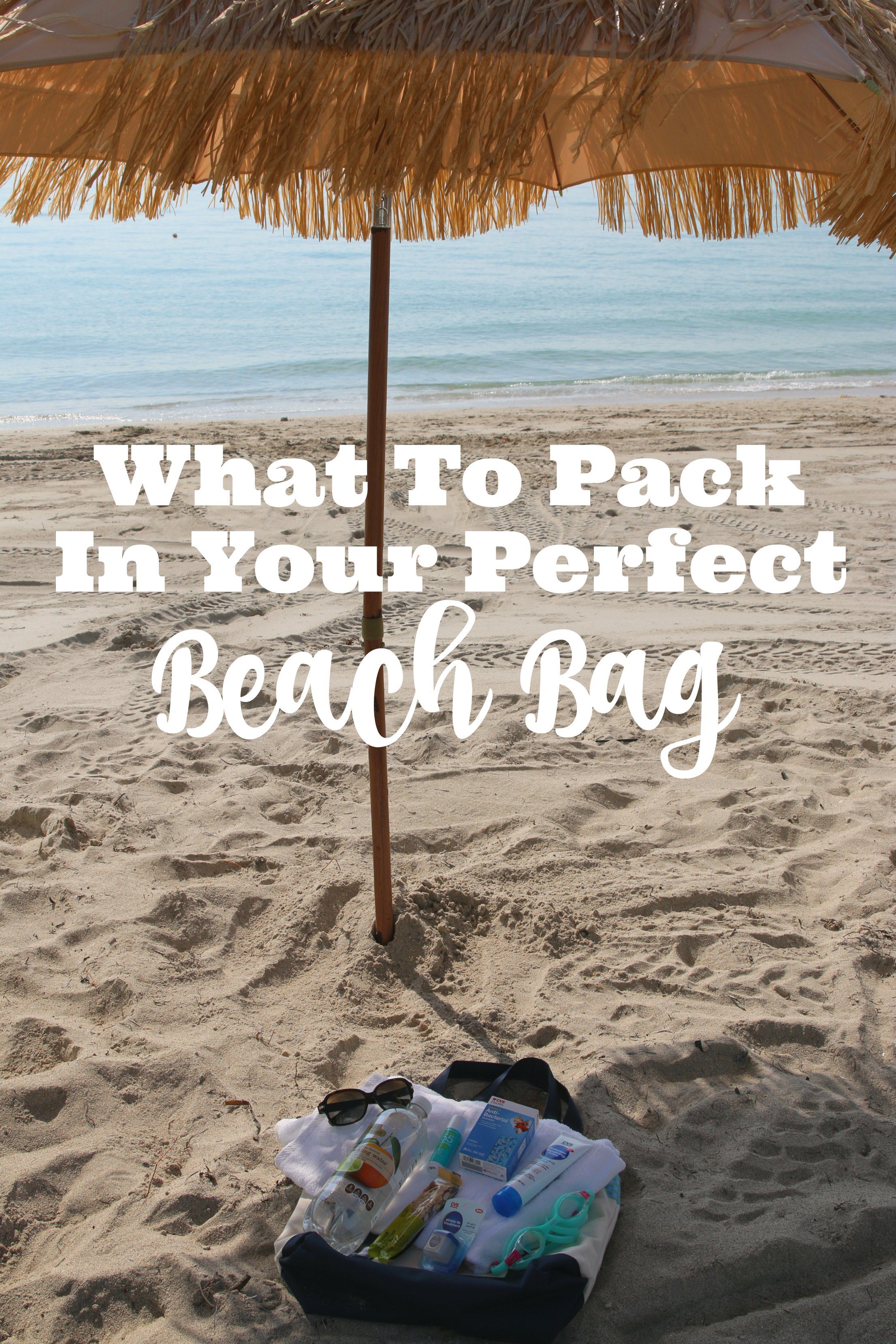what to pack in your perfect beach bag