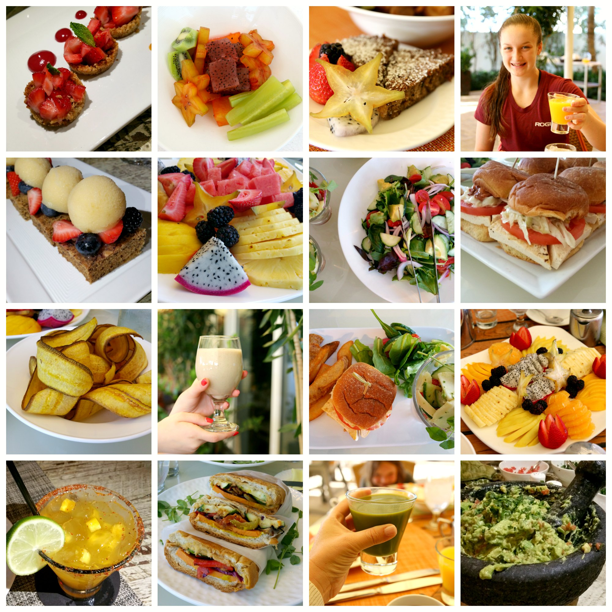 Fresh and delicious food at Trump Miami International Beach Resort