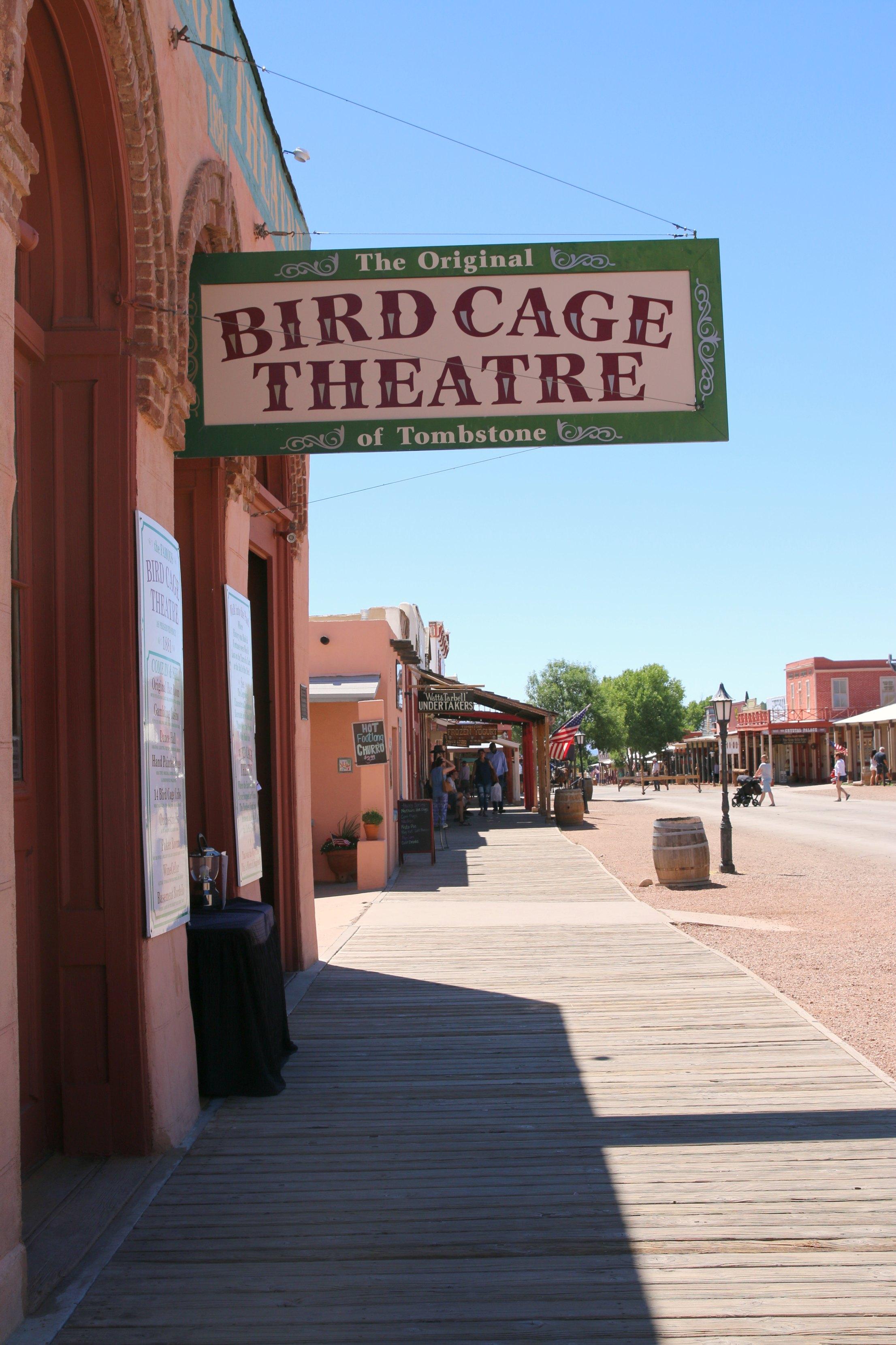 bird cage theatre arizona