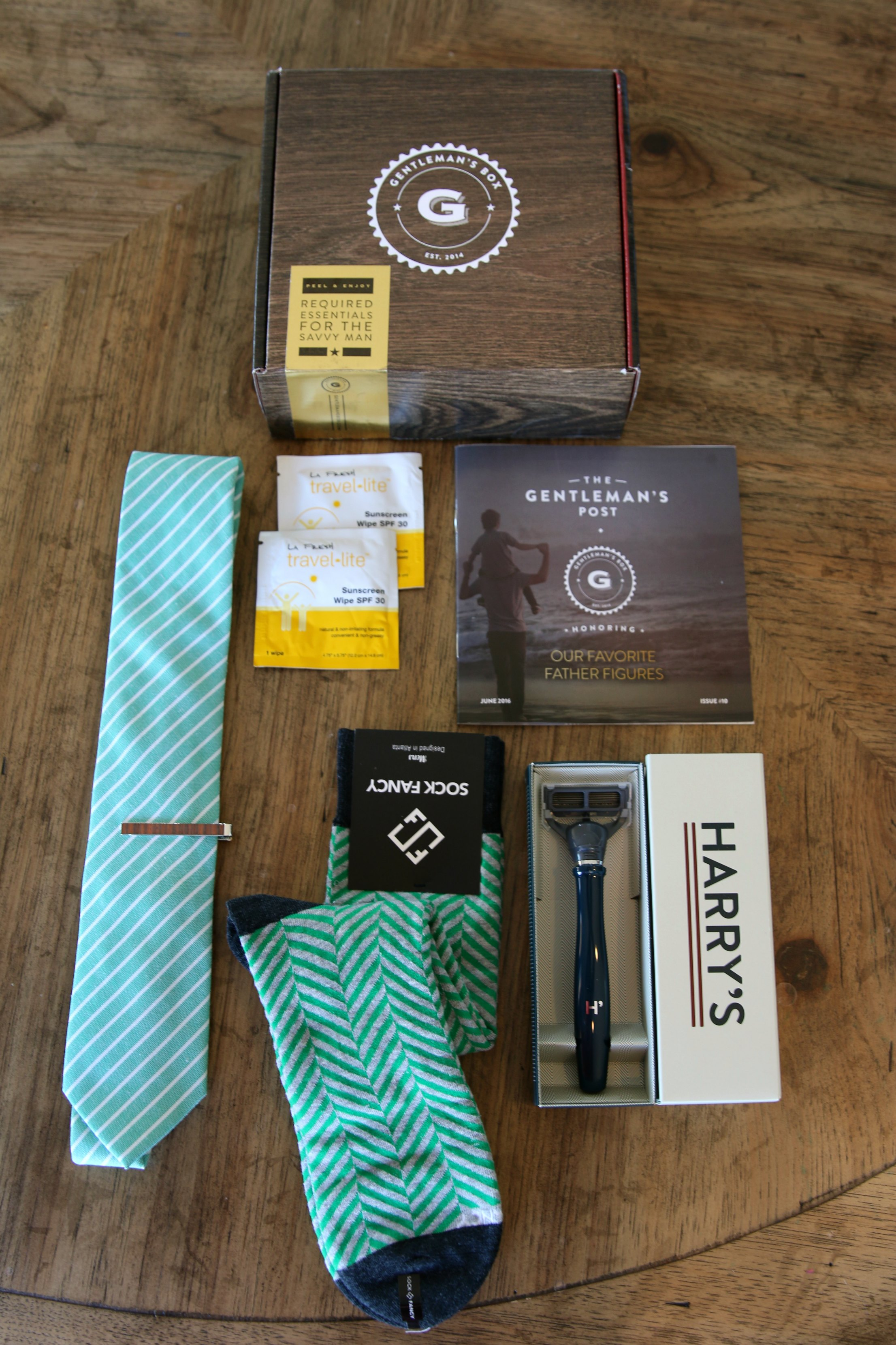 gift for men monthly box