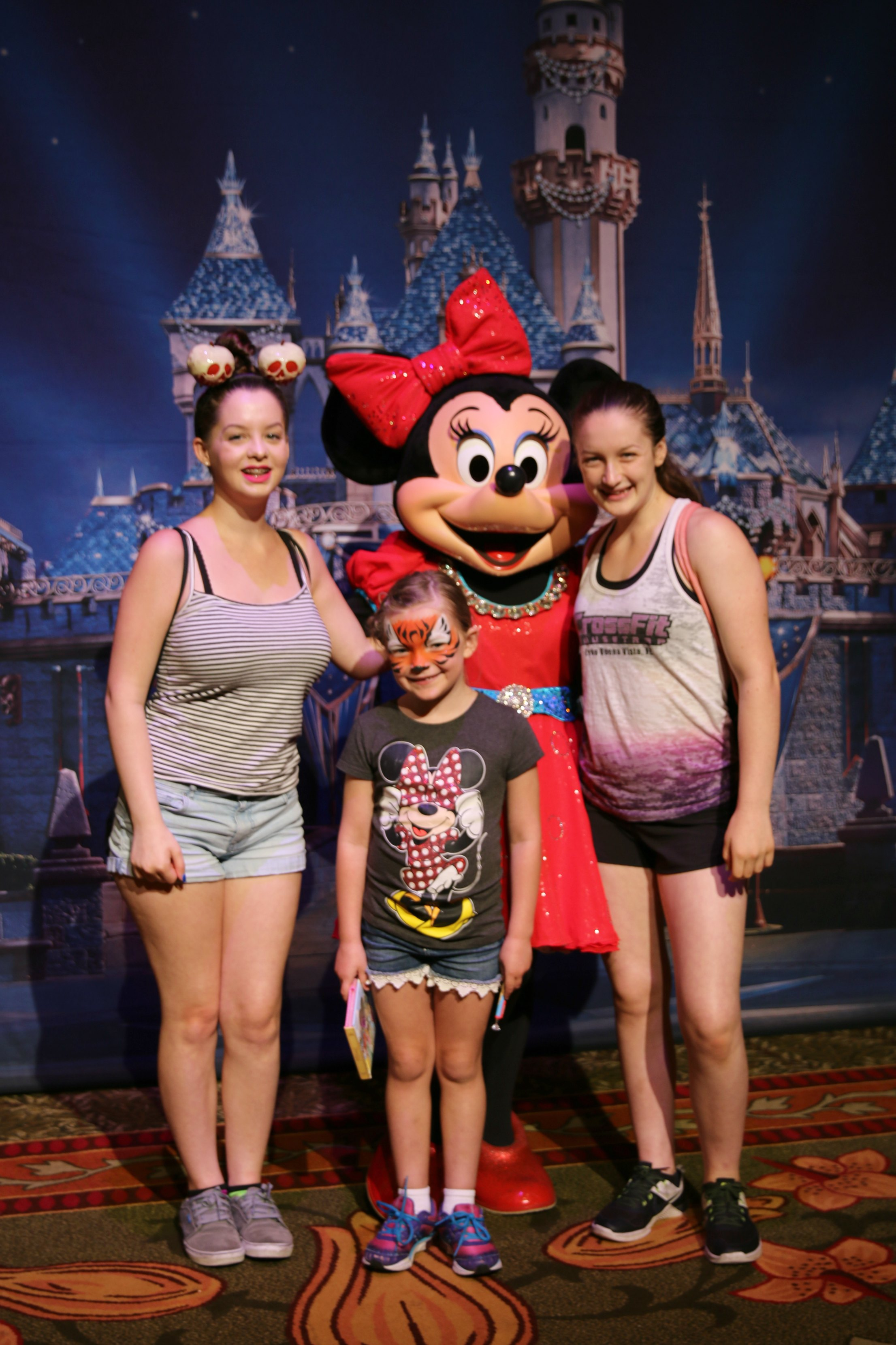 picture with minnie mouse disneyland