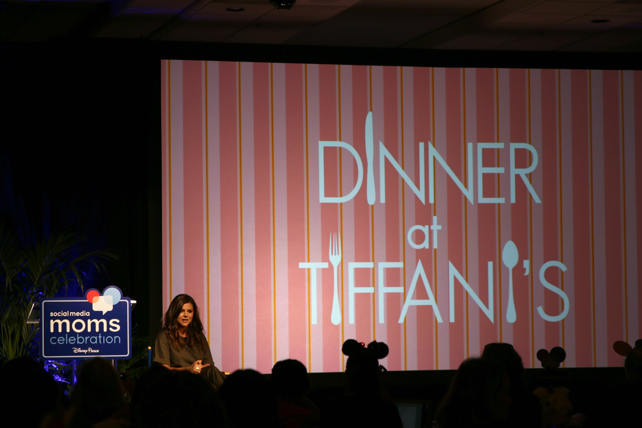 Tiffani Theissen dinner at Tiffanis interview