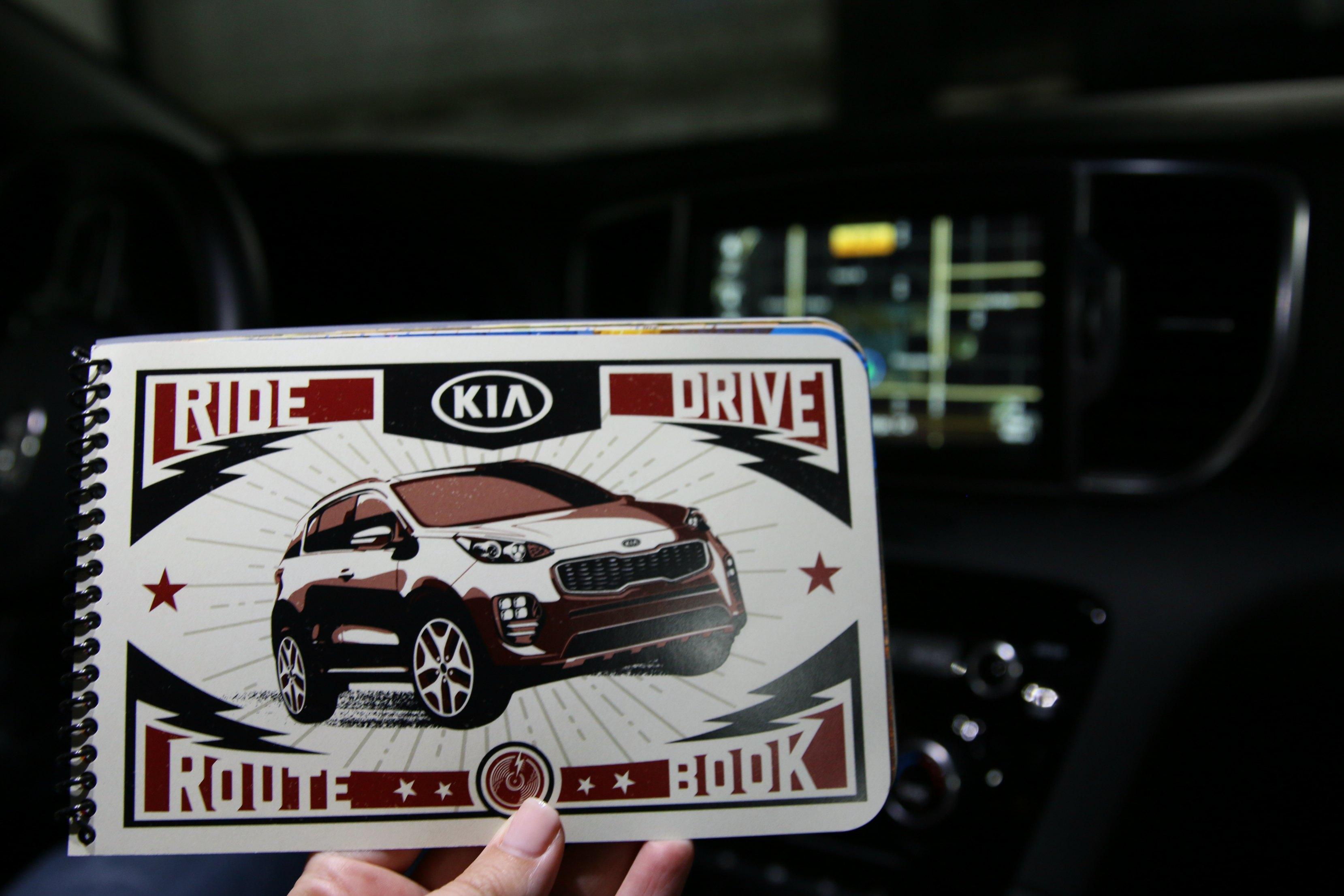 kia ride and drive event