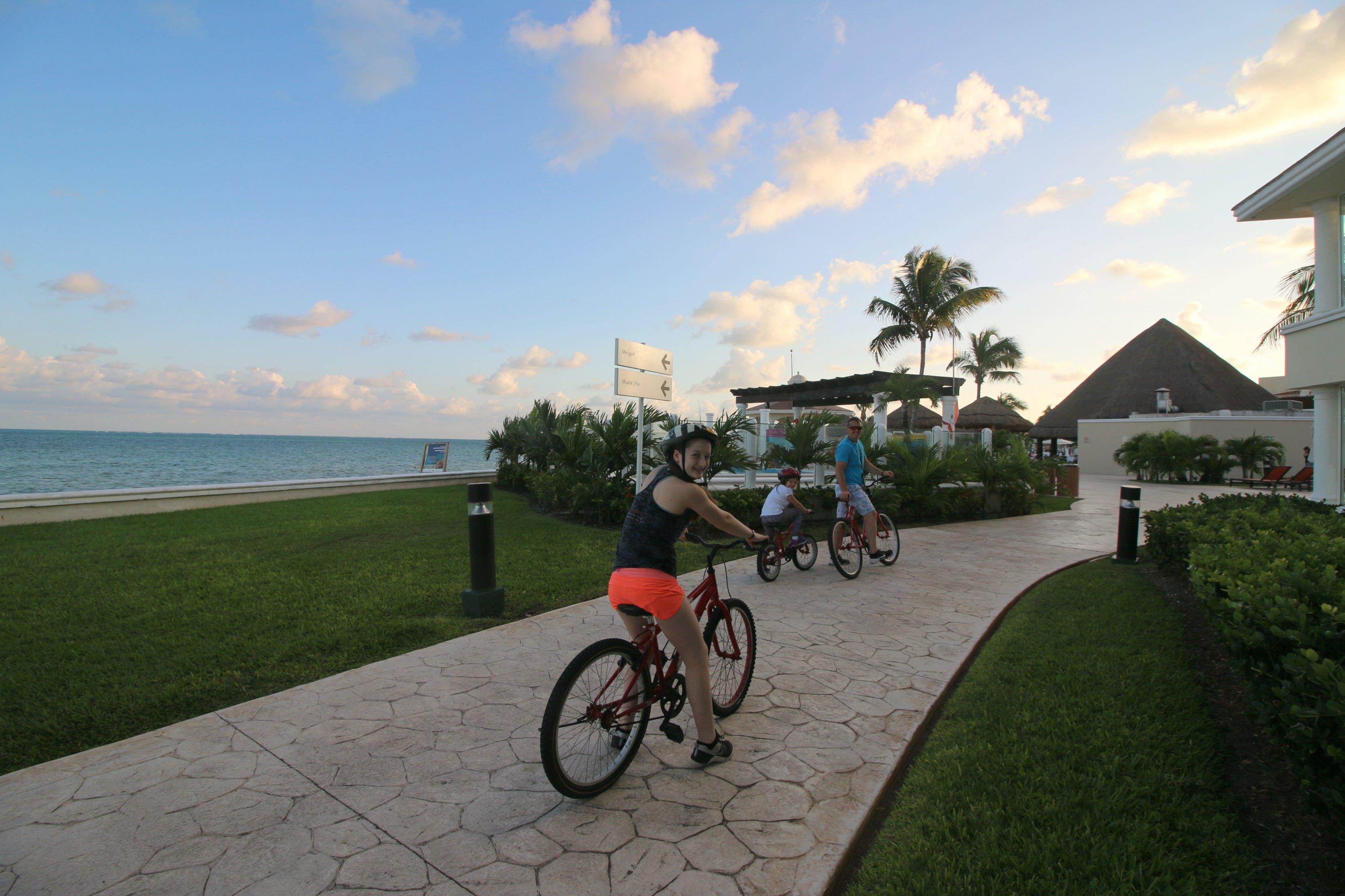 riding-bikes