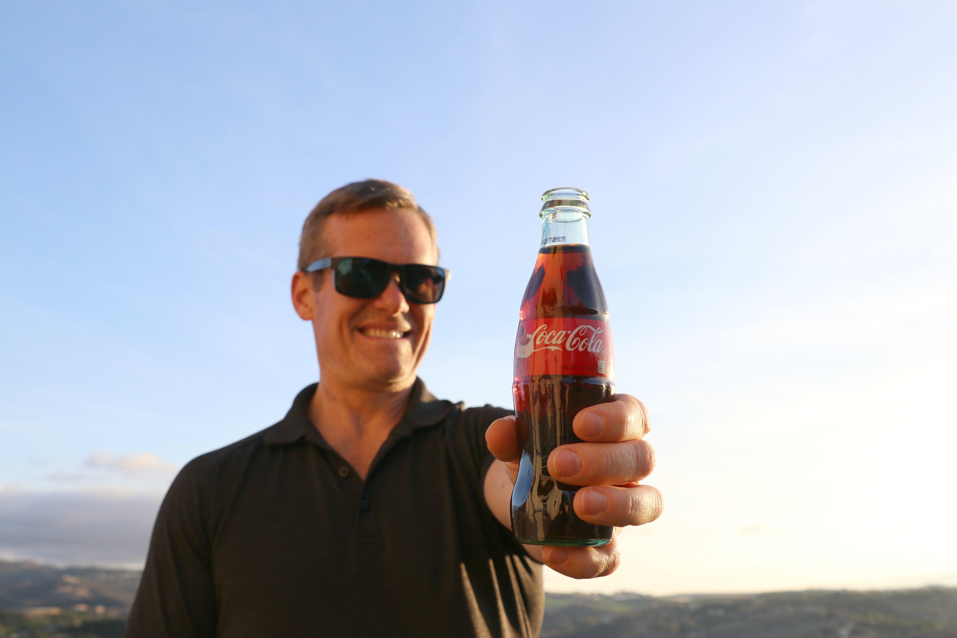 drinking-coke-happy