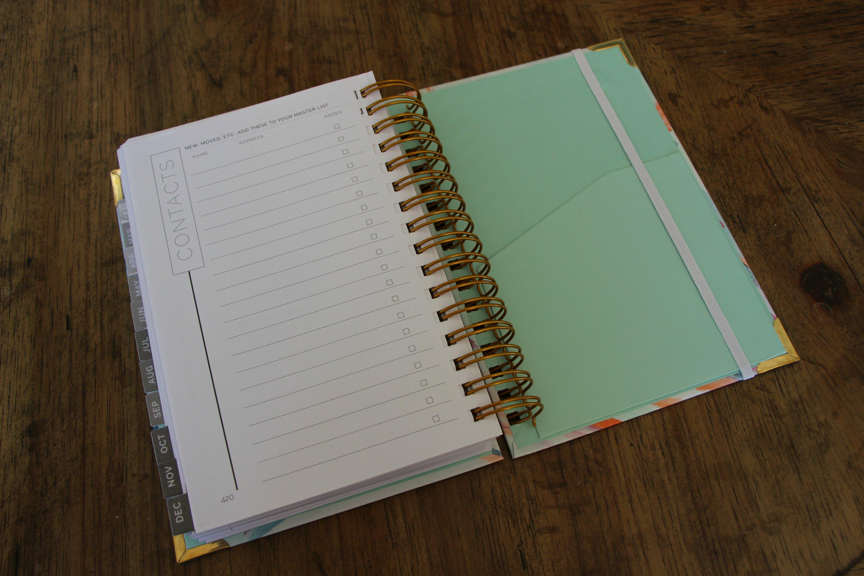 planner-organizer