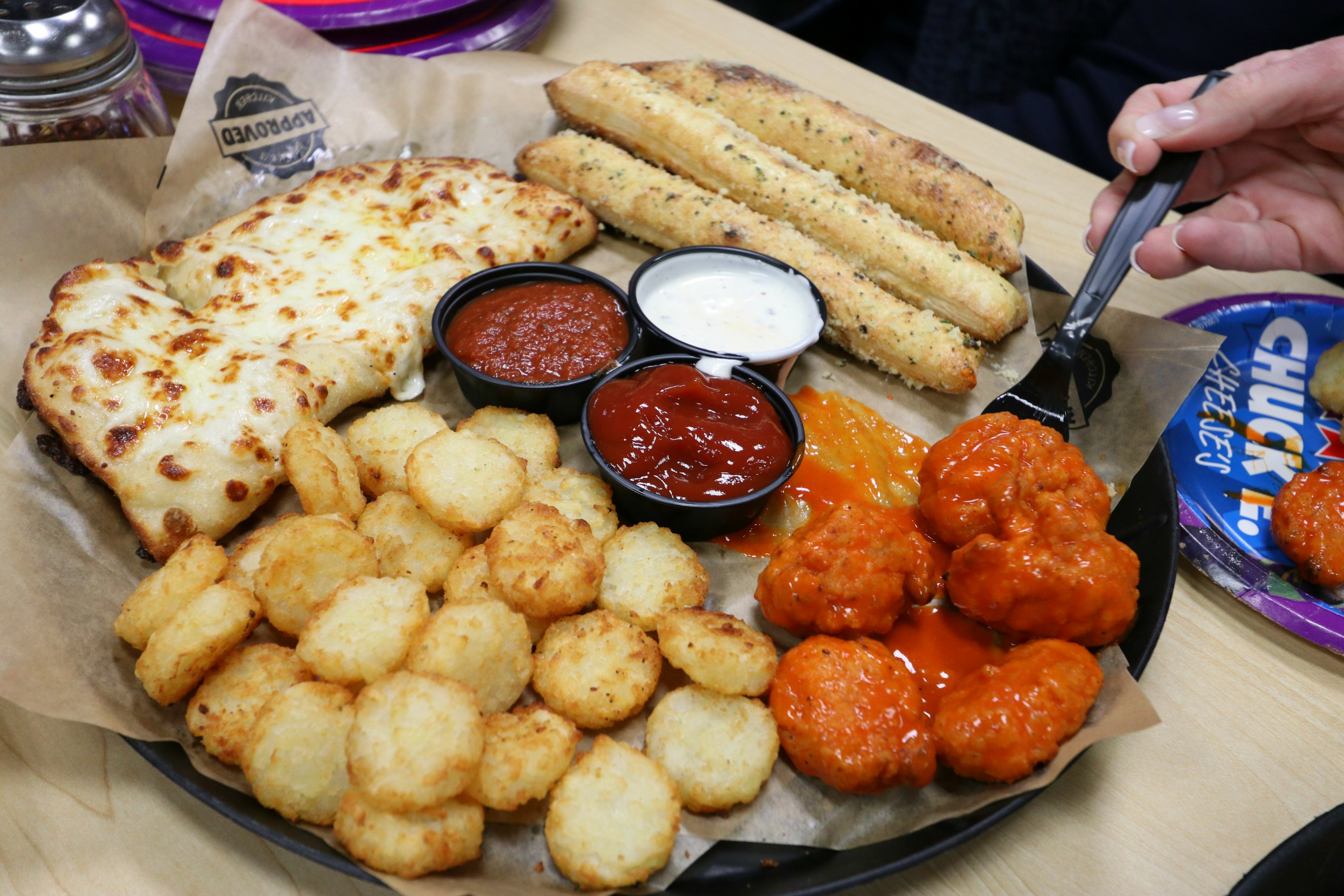 Chuck E. Cheese's appetizers