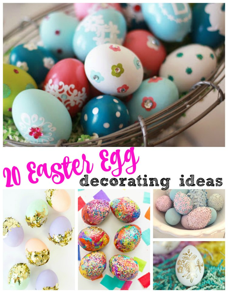20 of the best easter egg decorating ideas it 39 s a lovely for Easter egg ideas