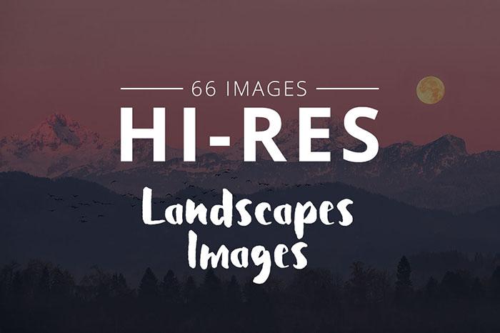 THUMB-landscapes