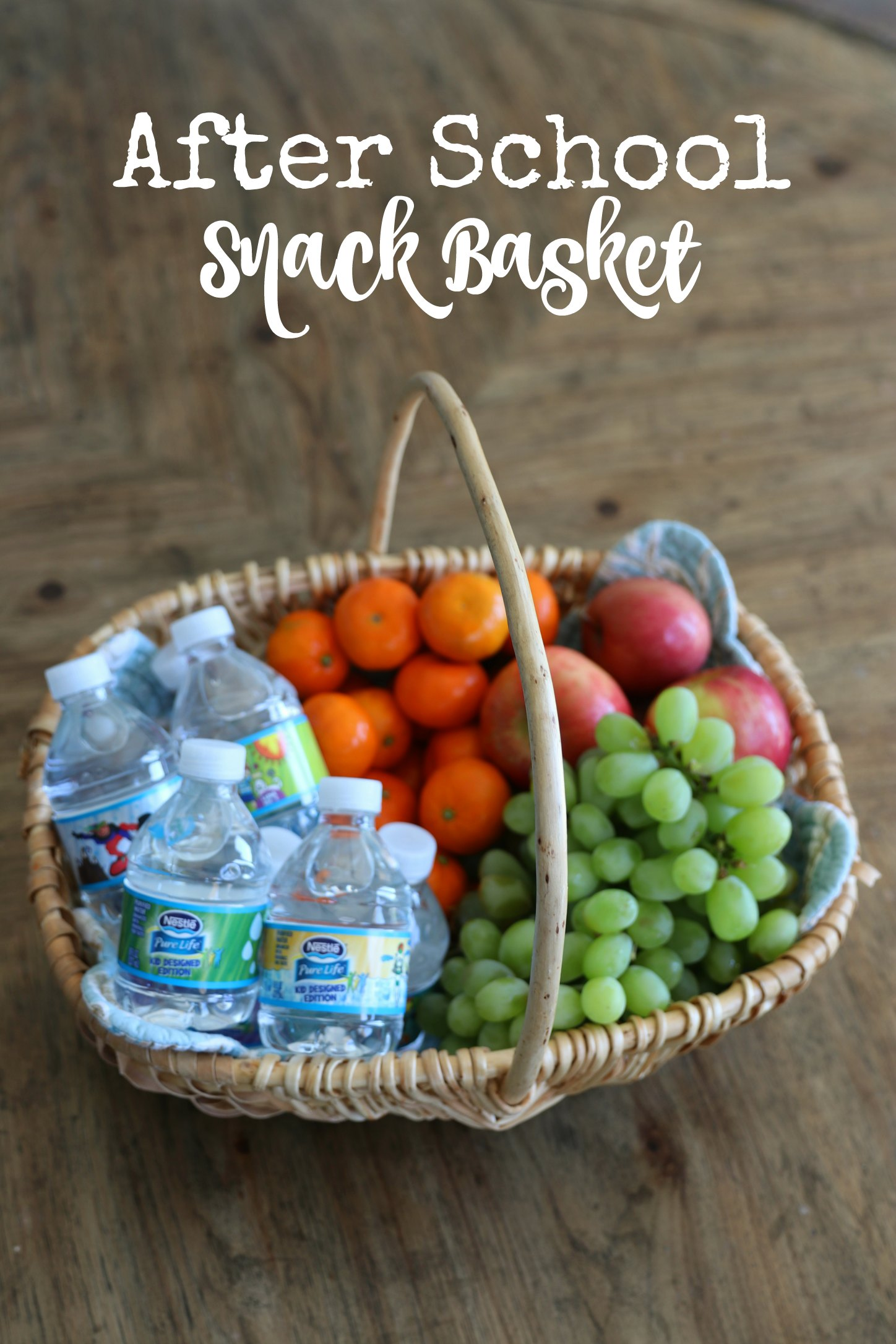 after school snack basket ideas