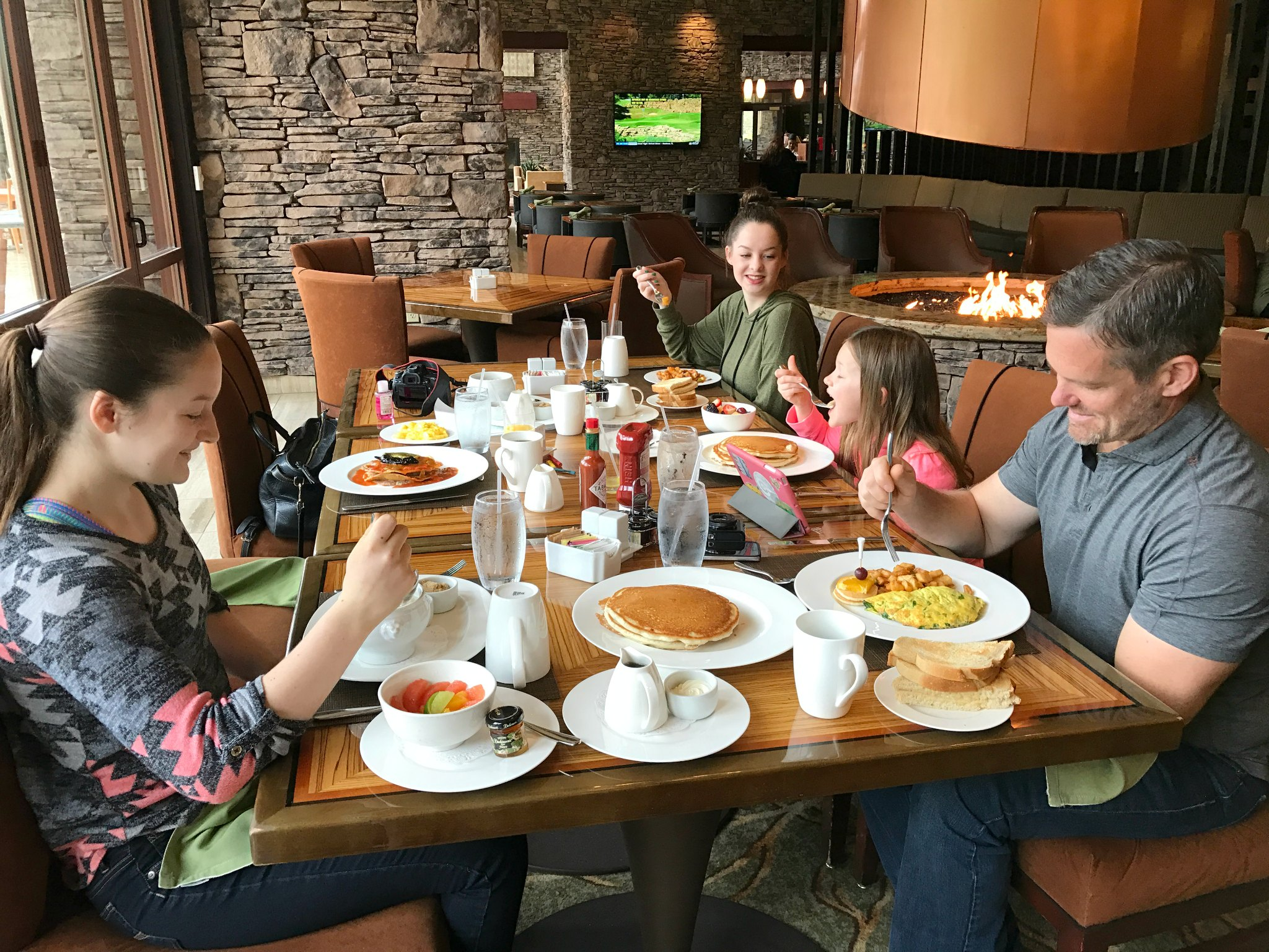 breakfast at Pechanga Temecula