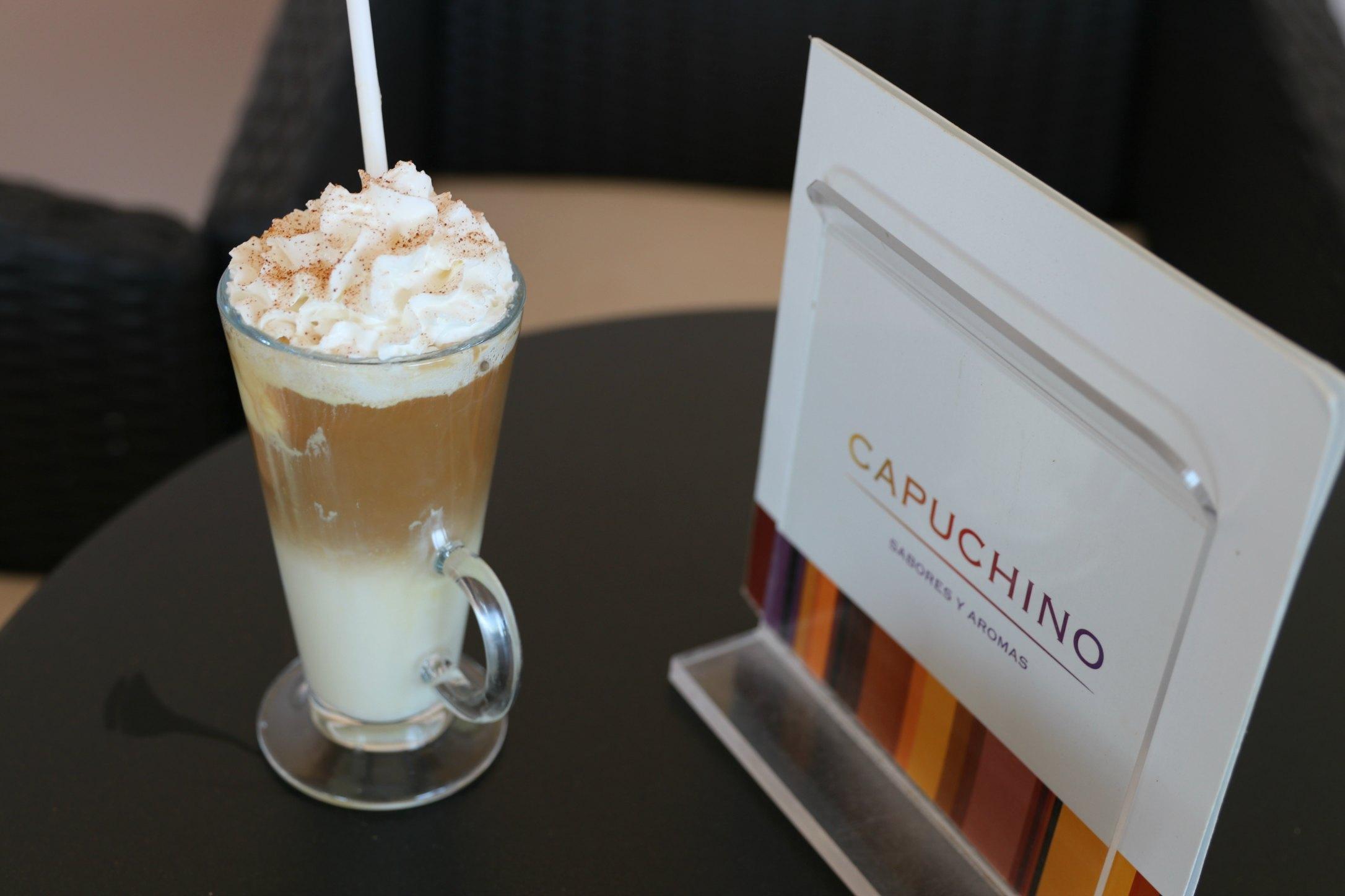 capuchino coffee shop riu palace
