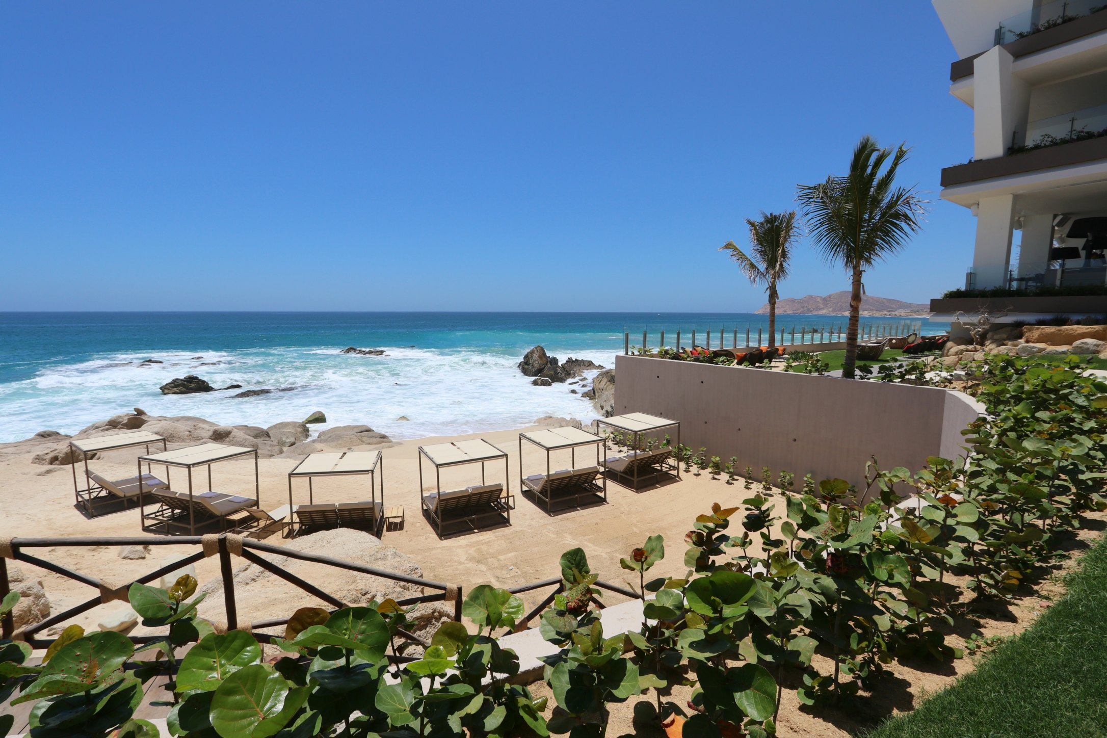 beach area grand velas los cabos