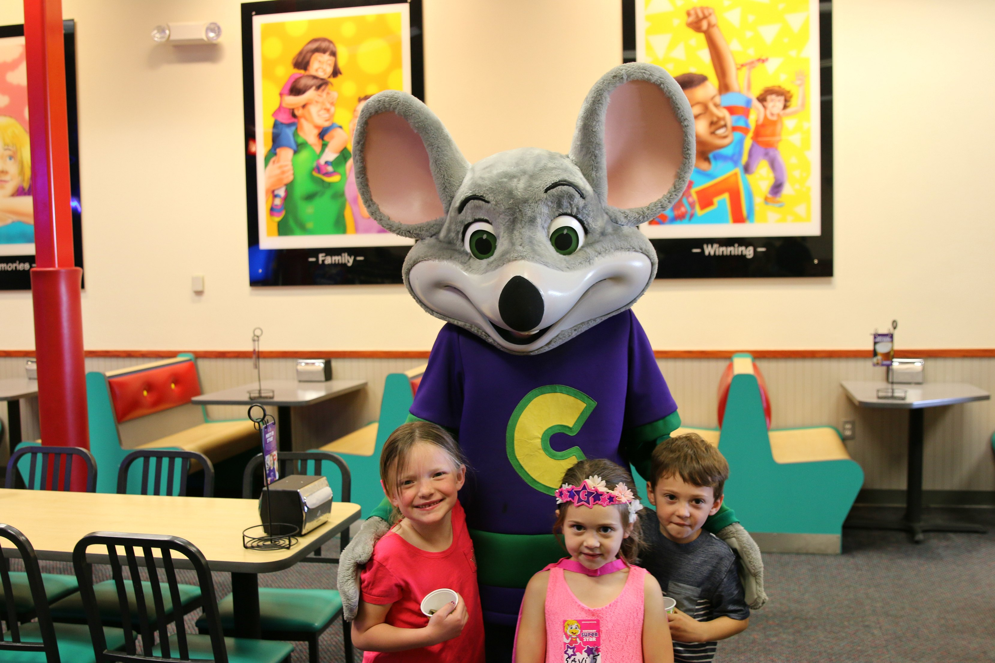 Chuck E Cheese: Celebrating 40 Years Of Fun At Chuck E. Cheese's