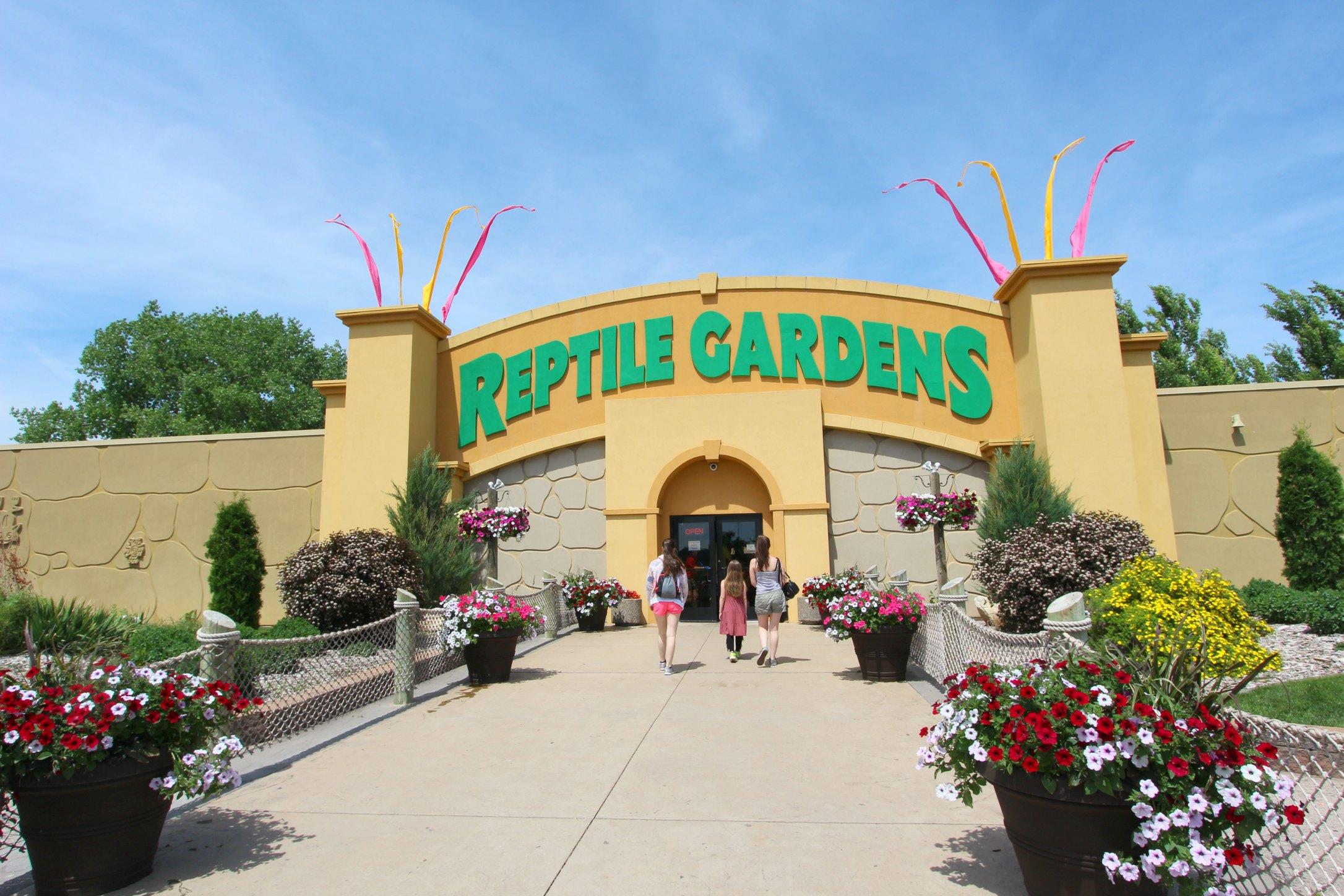 Reptile Gardens South Dakota Map Garden Ftempo