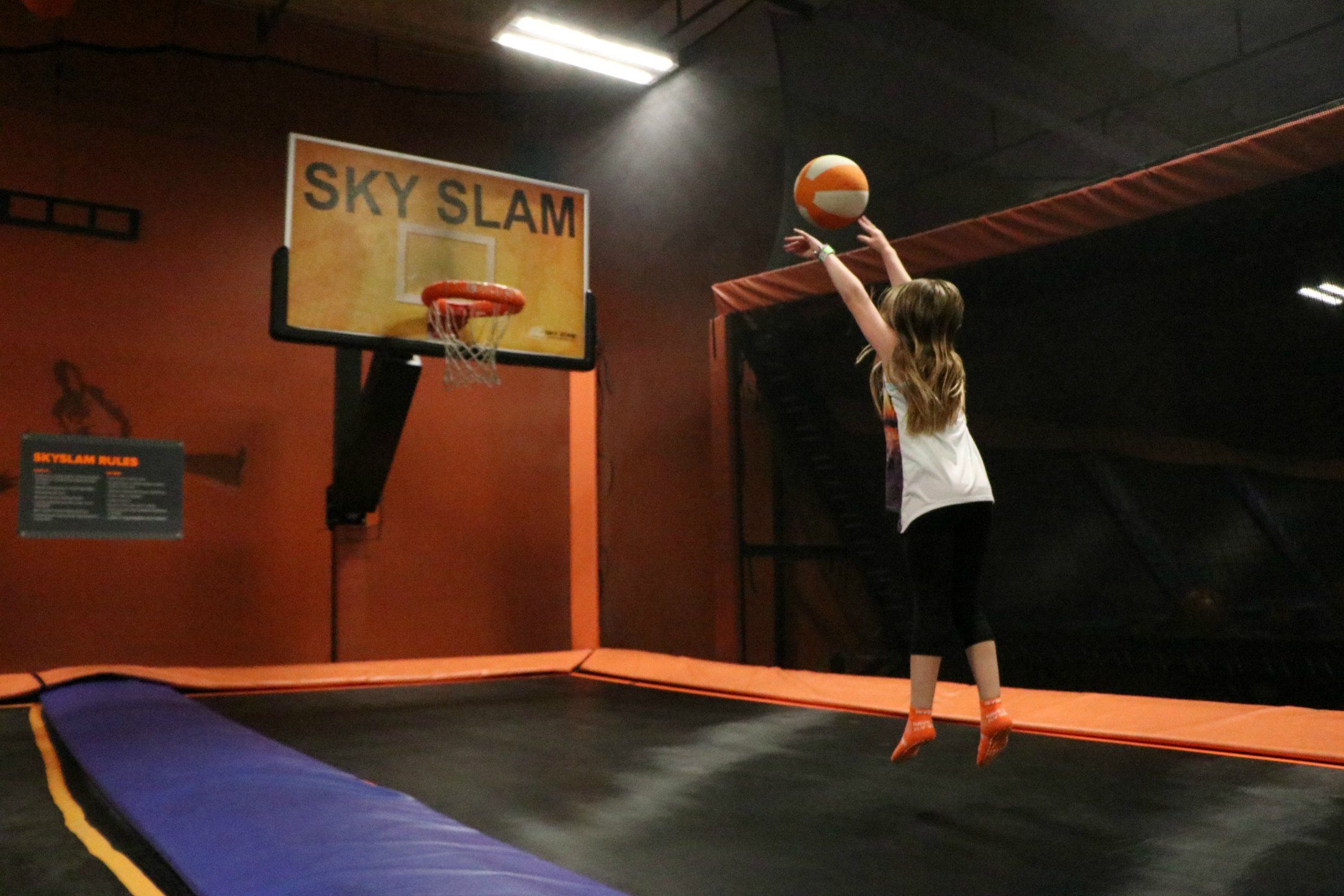 Fun For The Whole Family At Sky Zone   It's a Lovely Life!