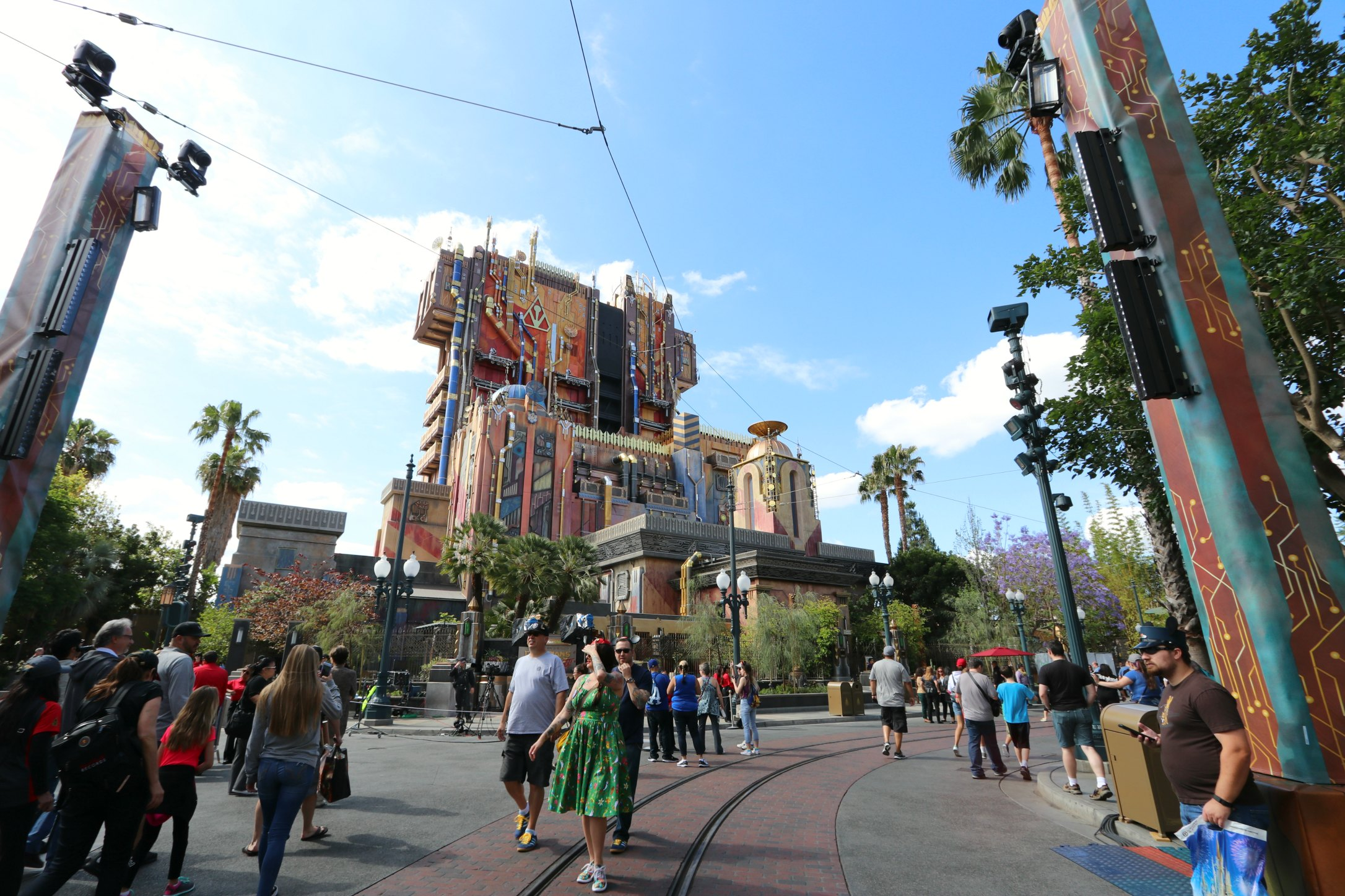 the old tower of terror